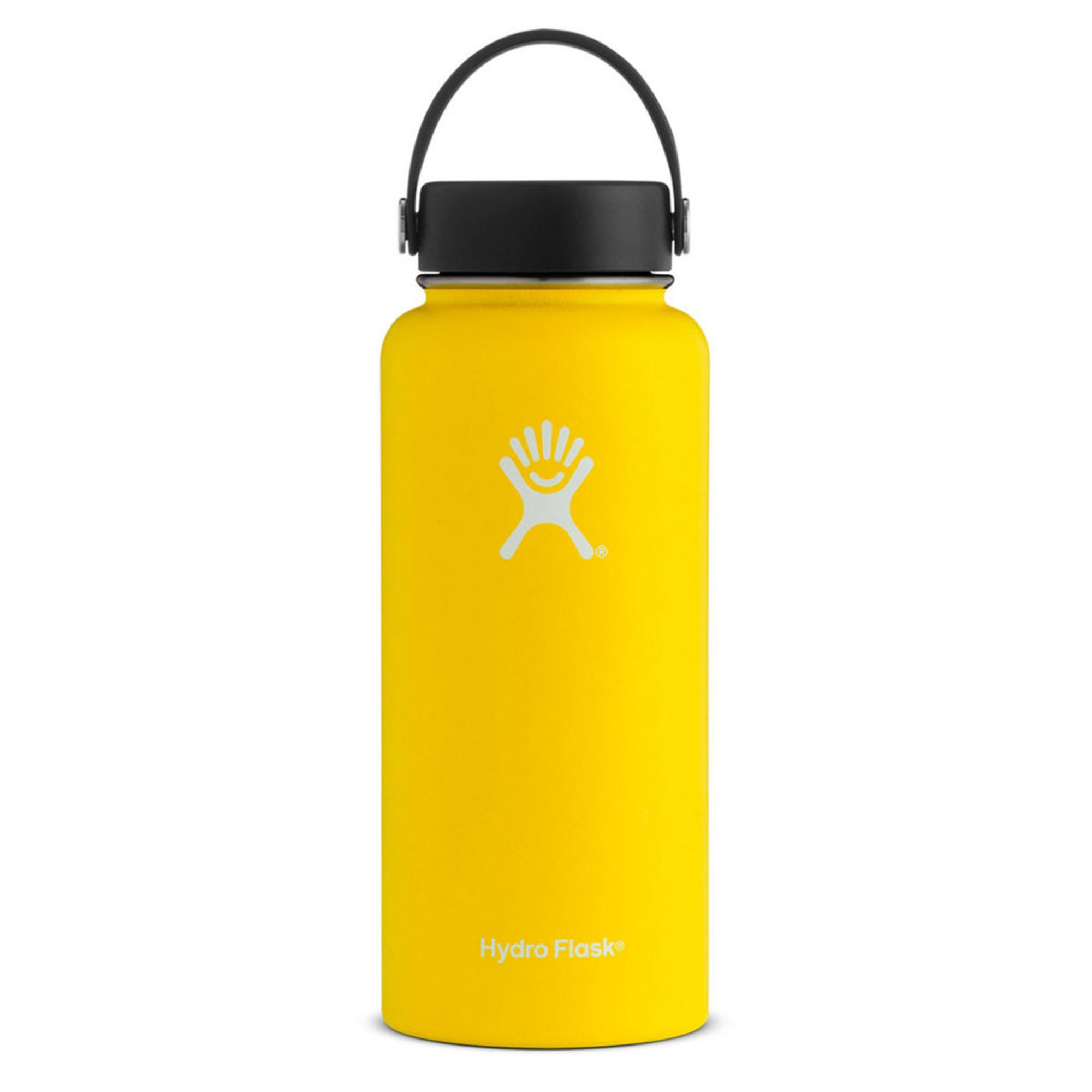 Hydro Flask 32 Oz Wide Mouth Bottle - Lemon  1b7361cb0