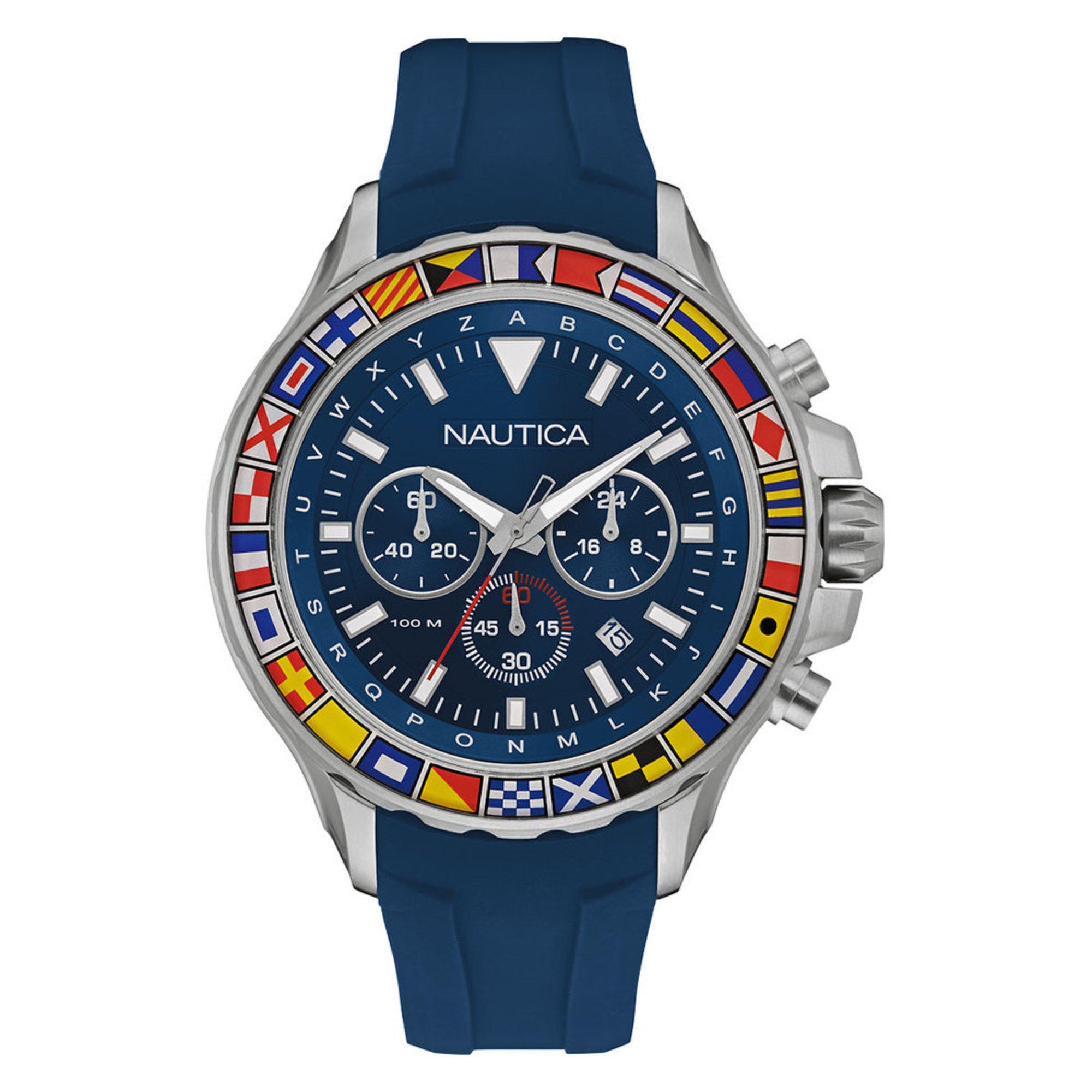 ae78da665f0 Nautica men chronograph silicone strap watch men jpg 1000x1000 Man old nautica  watch