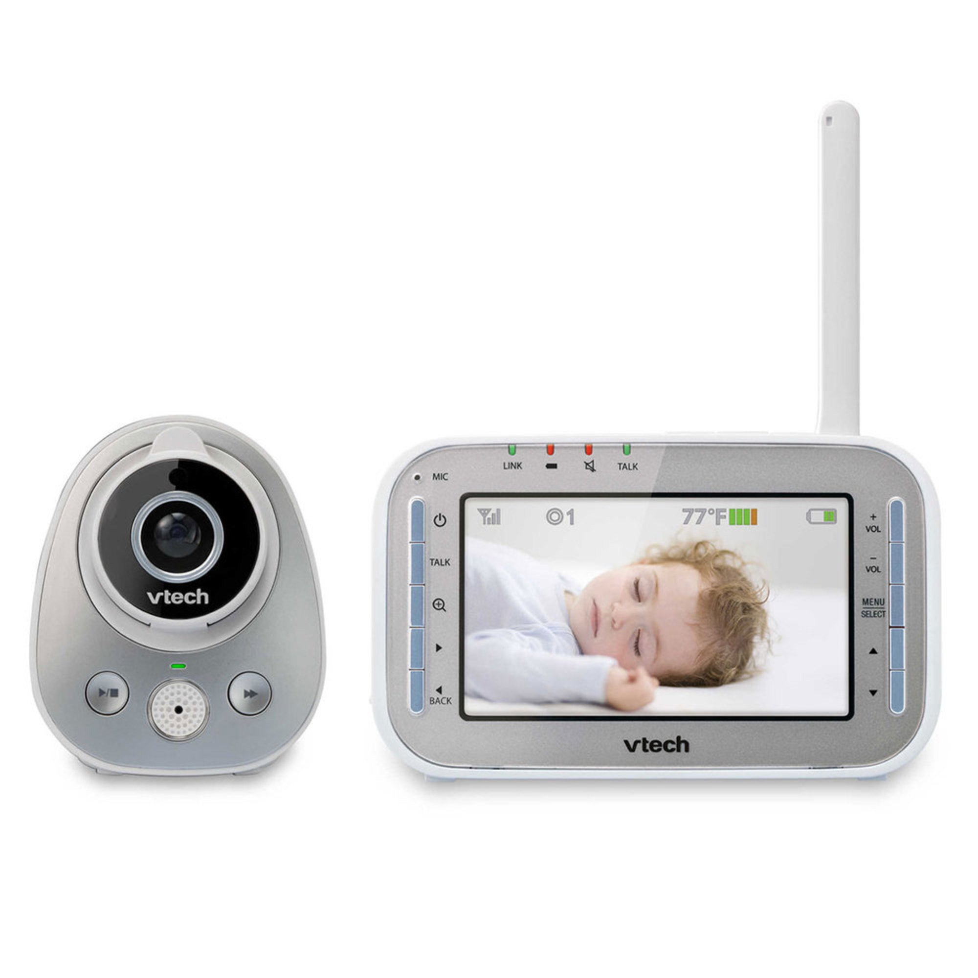 vtech safe sound full color video monitor video baby monitors kids shop your navy. Black Bedroom Furniture Sets. Home Design Ideas