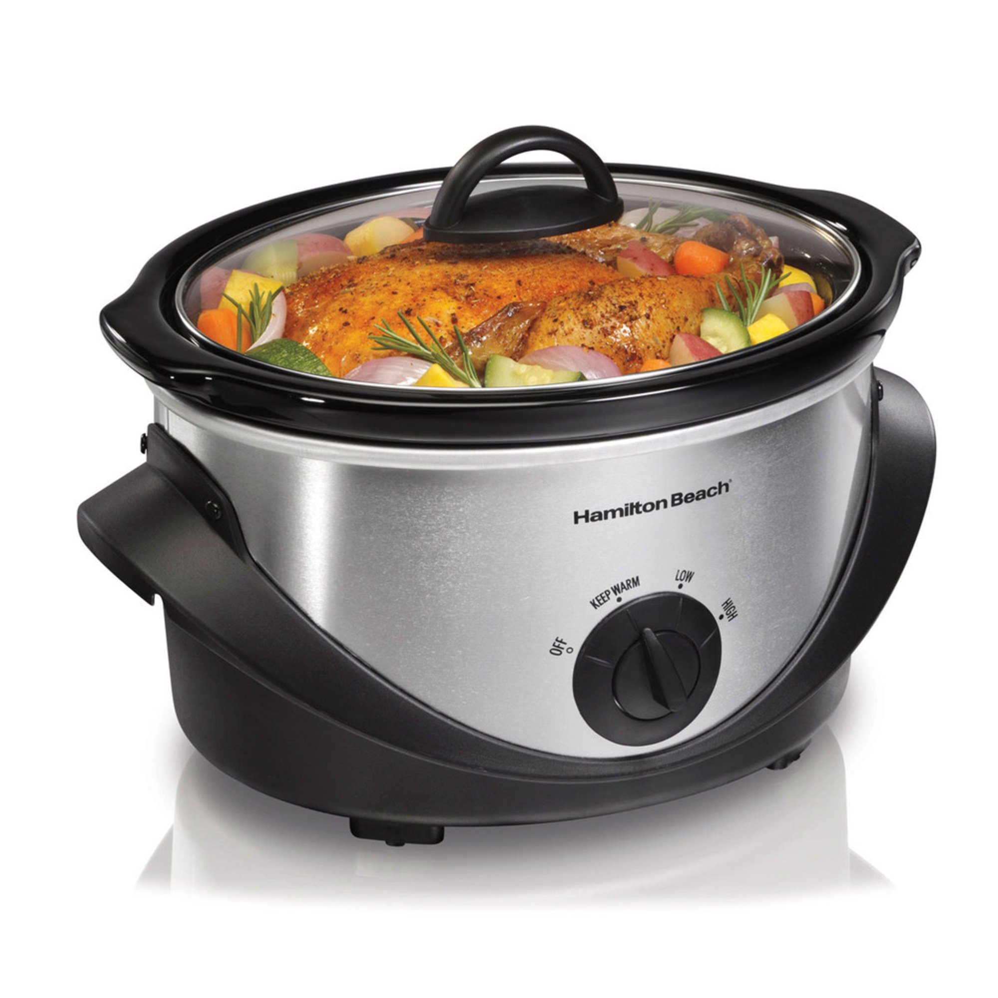 Hamilton beach slow cooker 33141 slow cookers for Hamilton beach pioneer woman slow cooker