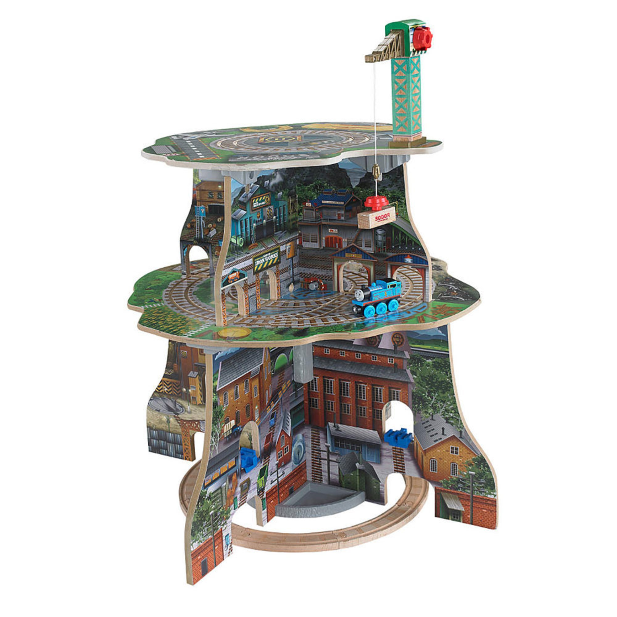 Thomas Friends Wooden Railway Sodor Adventure Tower