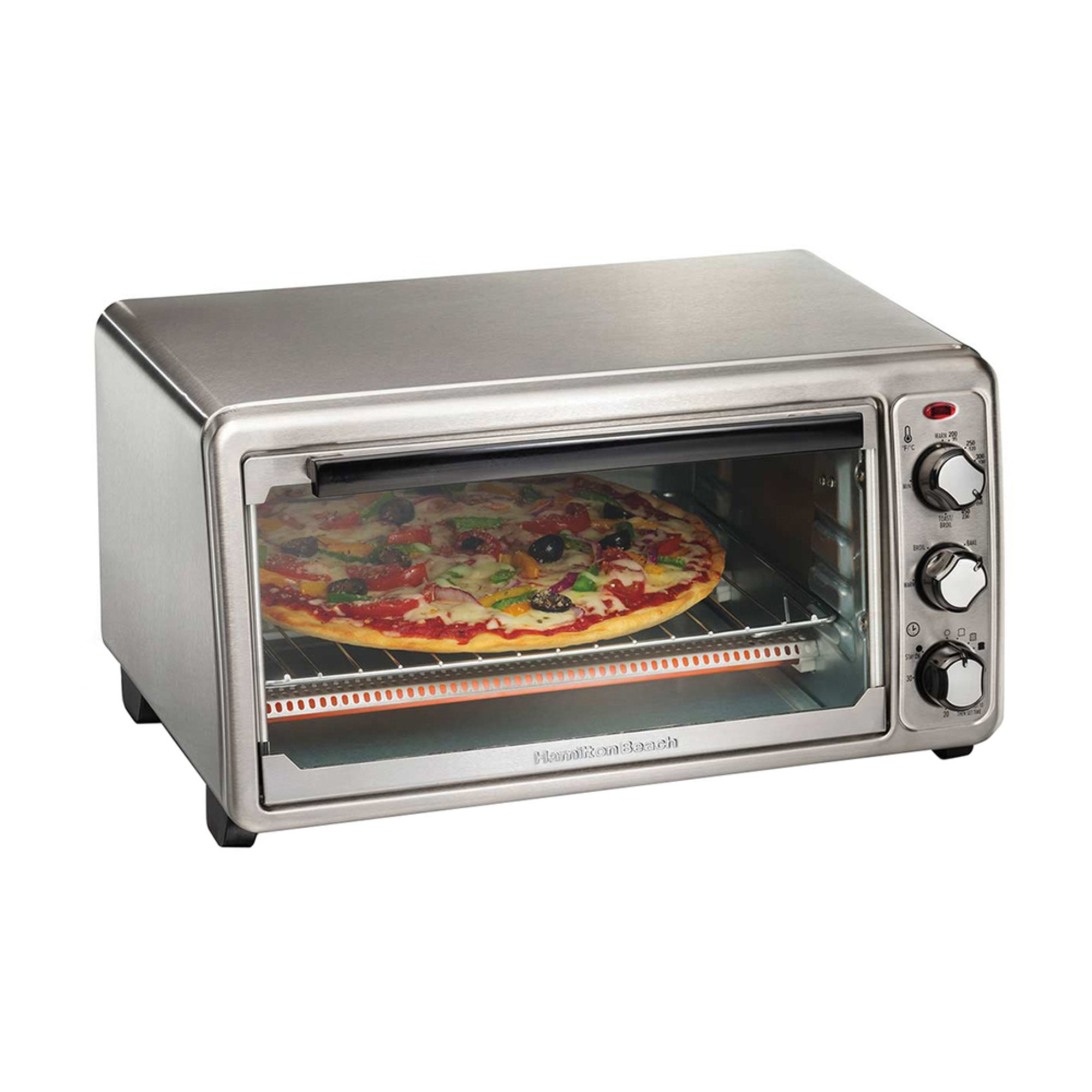 Slice Toaster Oven With Spots ~ Hamilton beach slice toaster broil oven