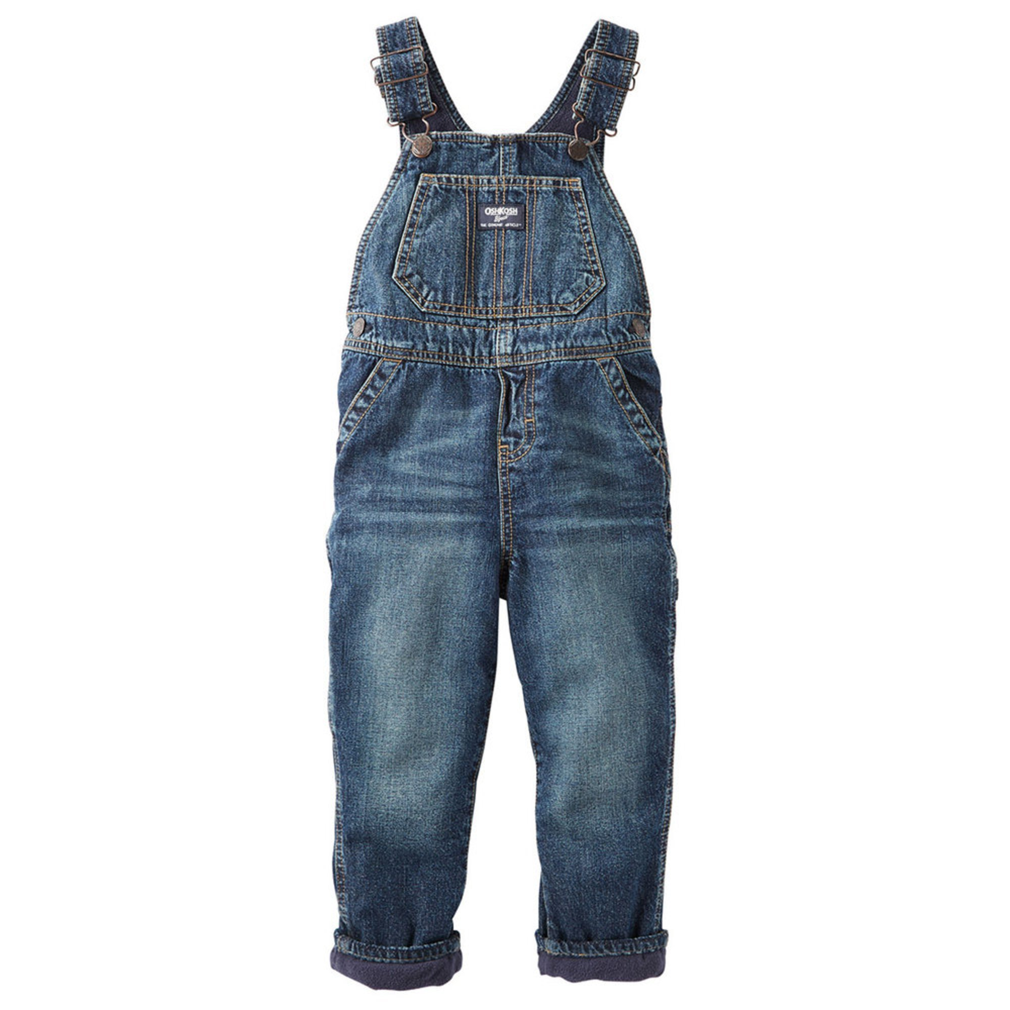 oshkosh baby boys 39 fleece lined overalls baby boys. Black Bedroom Furniture Sets. Home Design Ideas