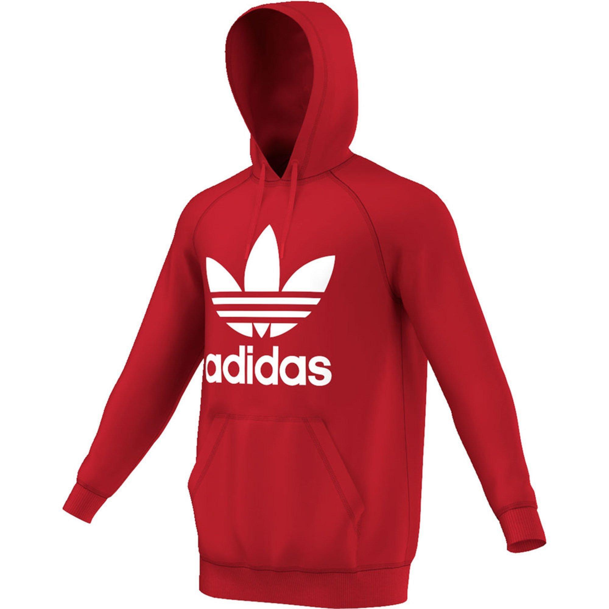adidas adidas originals 3foil red fleece hood 0 based on 0 reviews. Black Bedroom Furniture Sets. Home Design Ideas