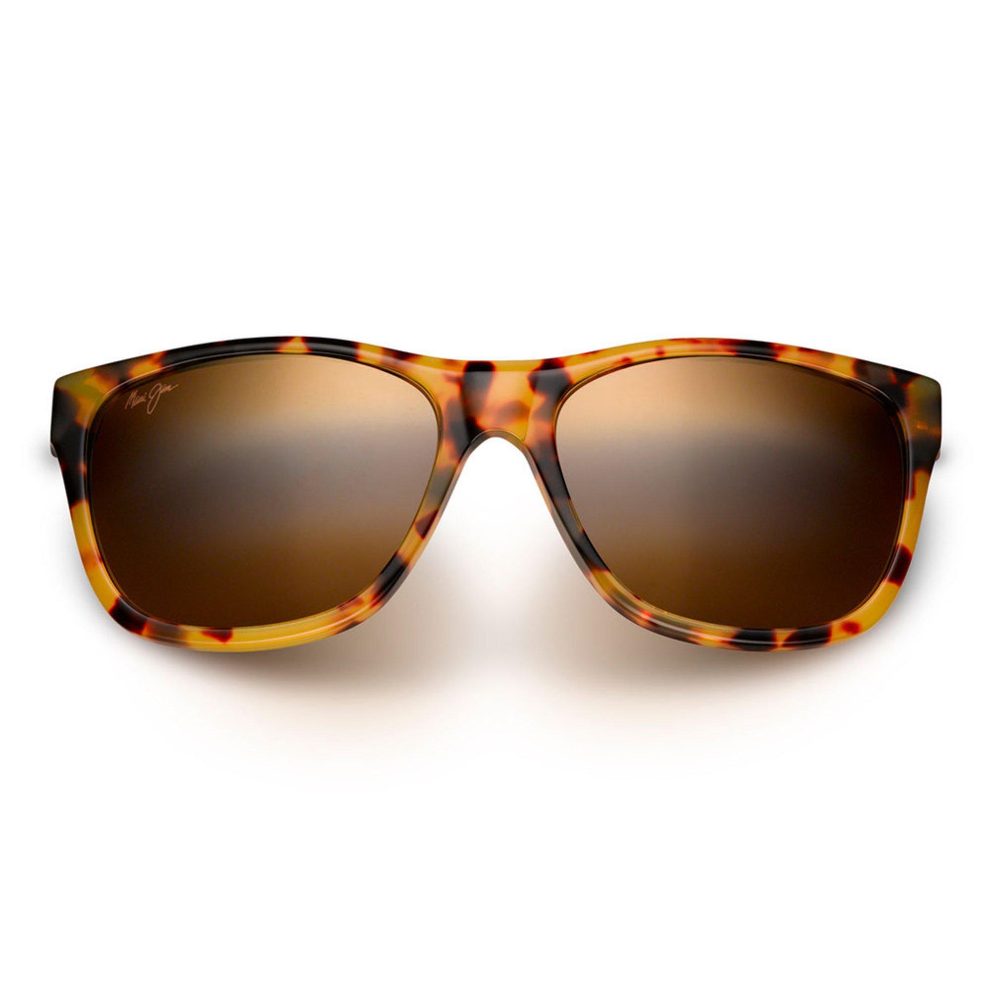 449399f6b389 Maui Jim. Maui Jim Unisex Howzit Tokyo Tortoise Rectangular Sunglasses
