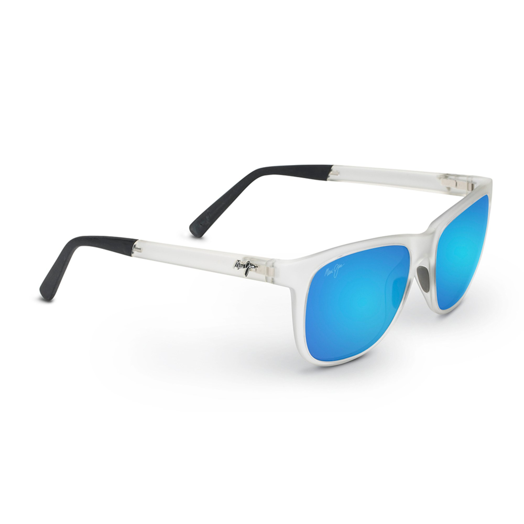 Maui Jim Warranty >> Maui Jim Unisex Tail Slide Frosted Crystal Classic Sunglasses