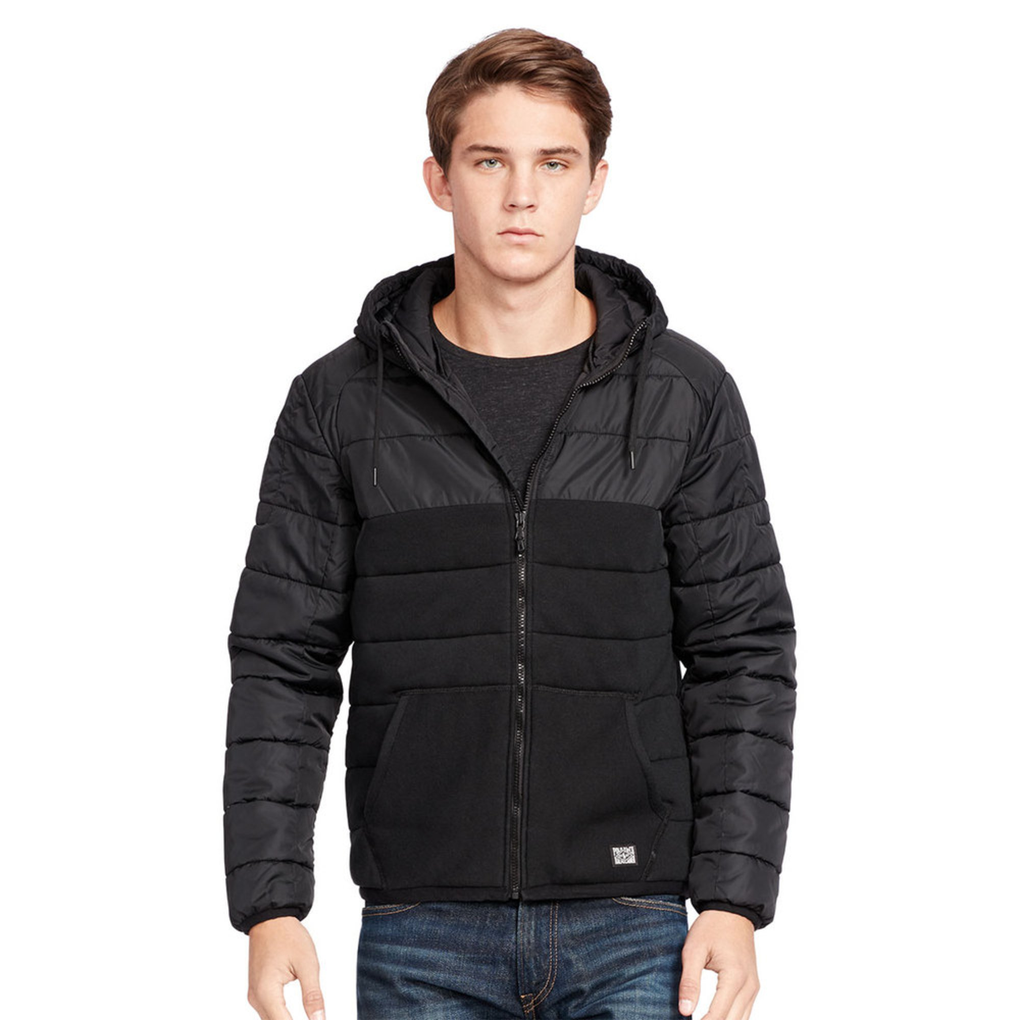 Polo Ralph Lauren Men\u0026#39;s Quilted Hybrid Jacket