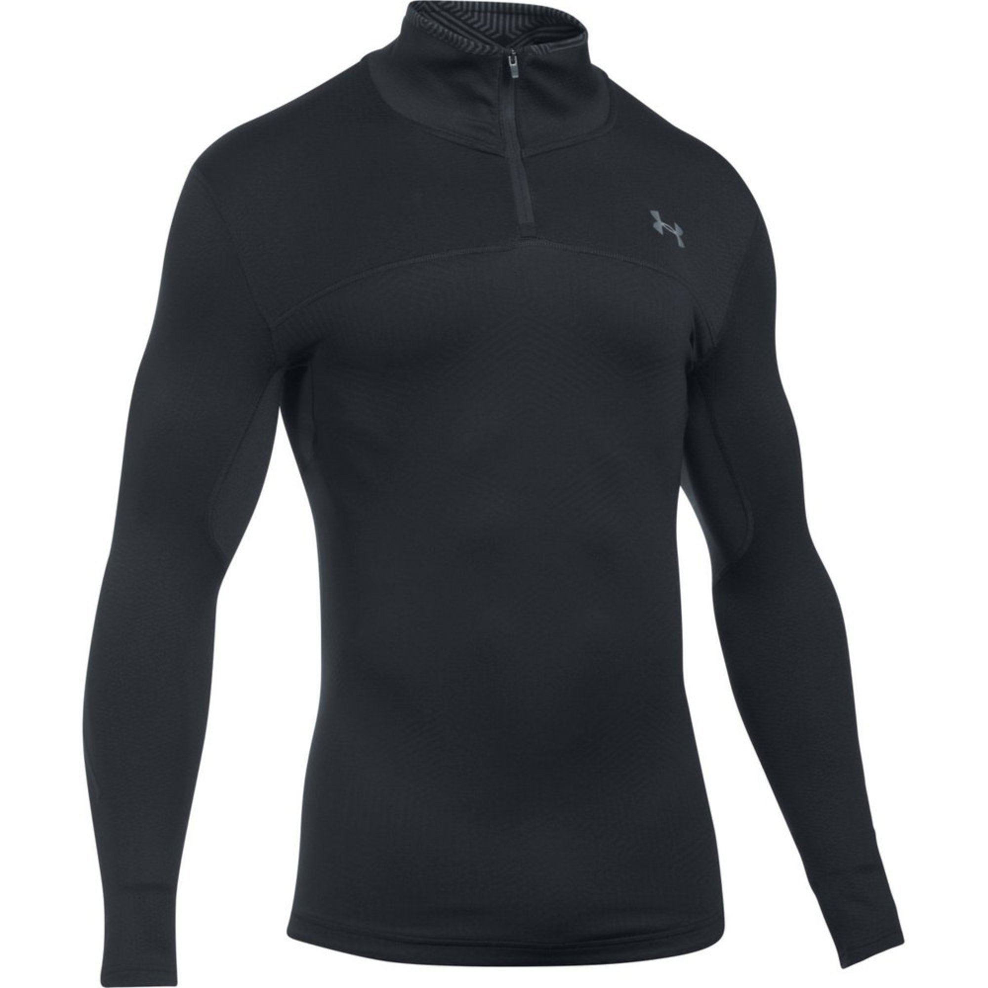 Under armour men 39 s cold gear infrared armour elements 1 4 for Under armour cold gear shirt mens