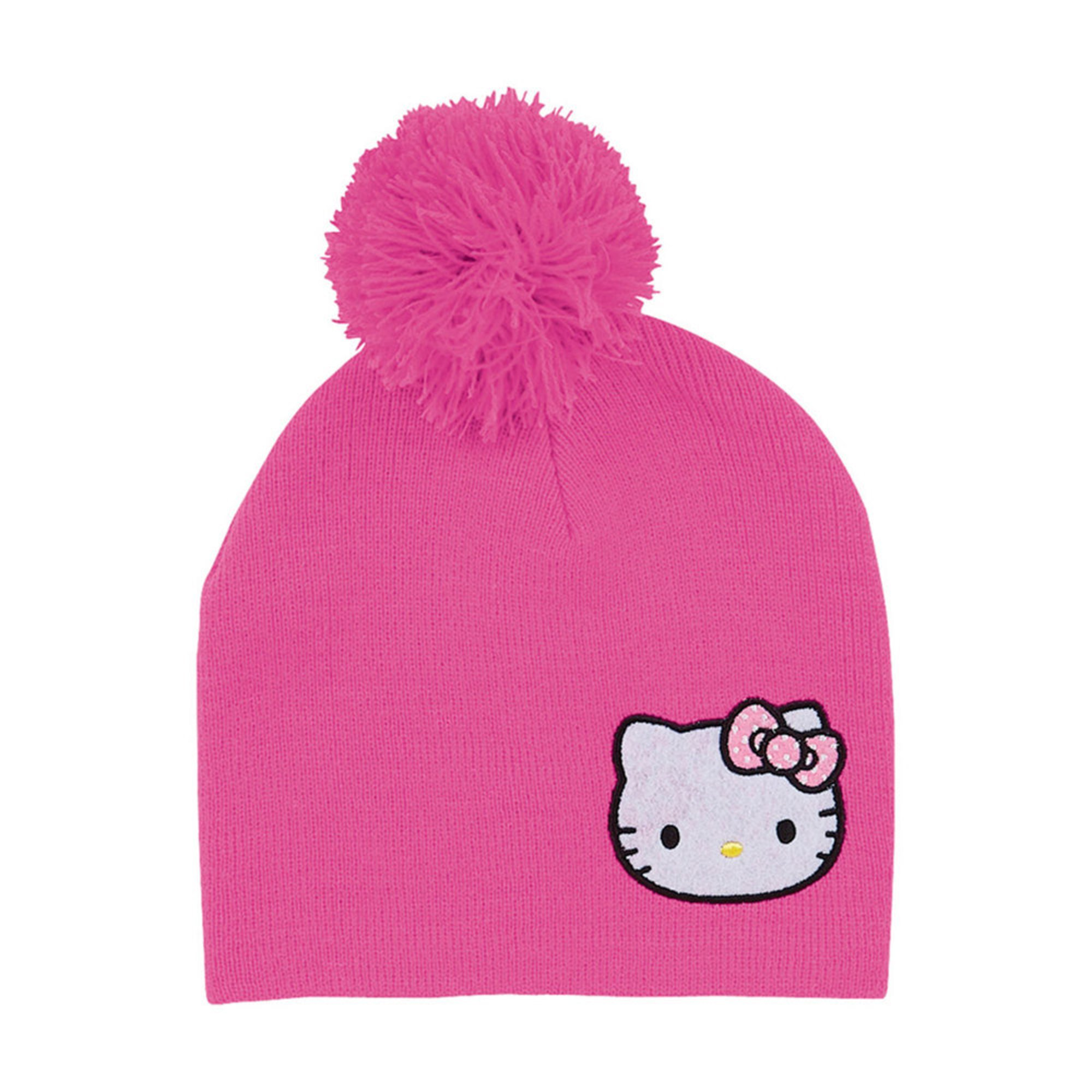 Hello Kitty Seasonal Kids Knit Beanie Girls Hats Kids - Shop Yo...
