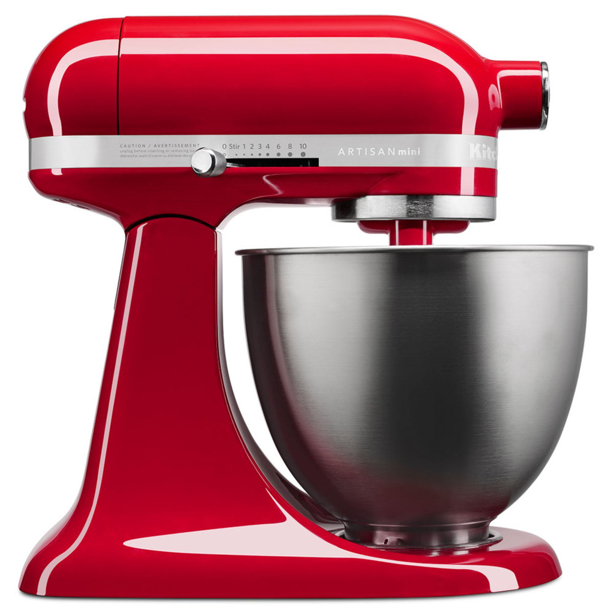 Kitchenaid artisan mini 3 5 quart stand mixer empire red ksm3311xer stand mixers for the - Kitchenaid artisan qt stand mixer sale ...
