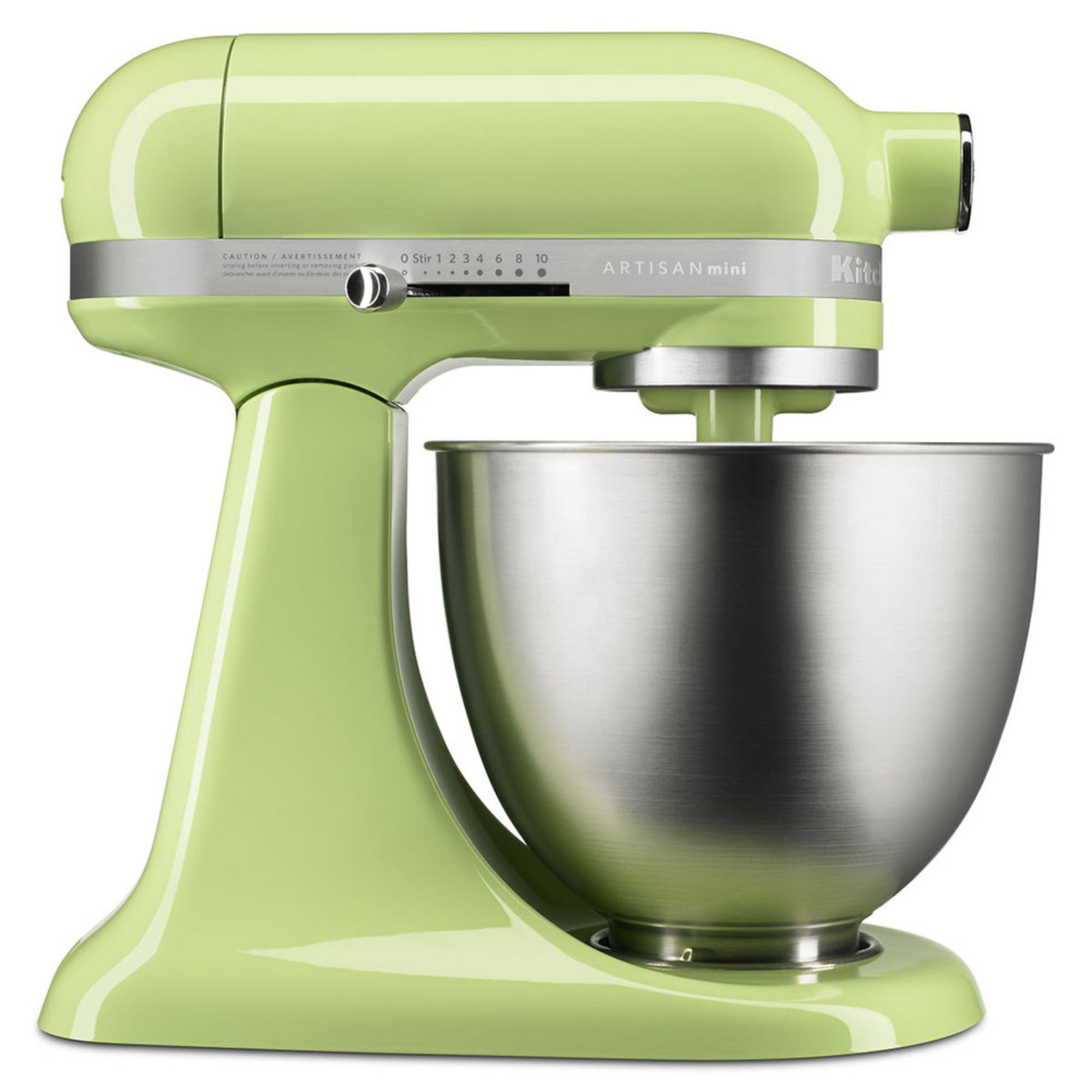 kitchenaid artisan mini 3 5 quart stand mixer honeydew ksm3311xhw stand mixers for the. Black Bedroom Furniture Sets. Home Design Ideas