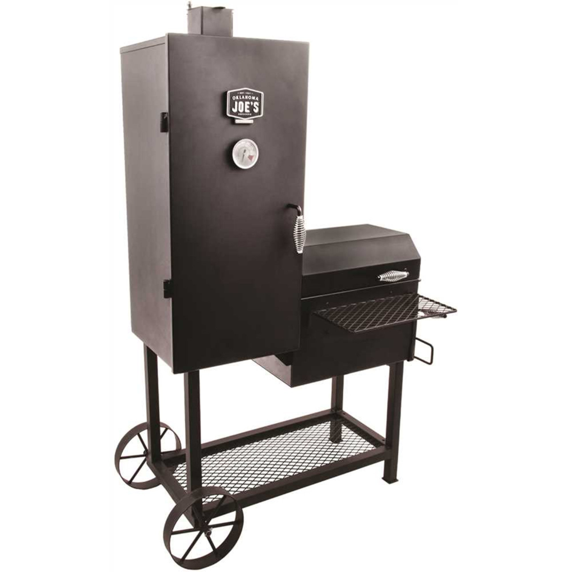 char broil oklahoma joe s bandera smoker smokers outdoor living shop your navy exchange. Black Bedroom Furniture Sets. Home Design Ideas