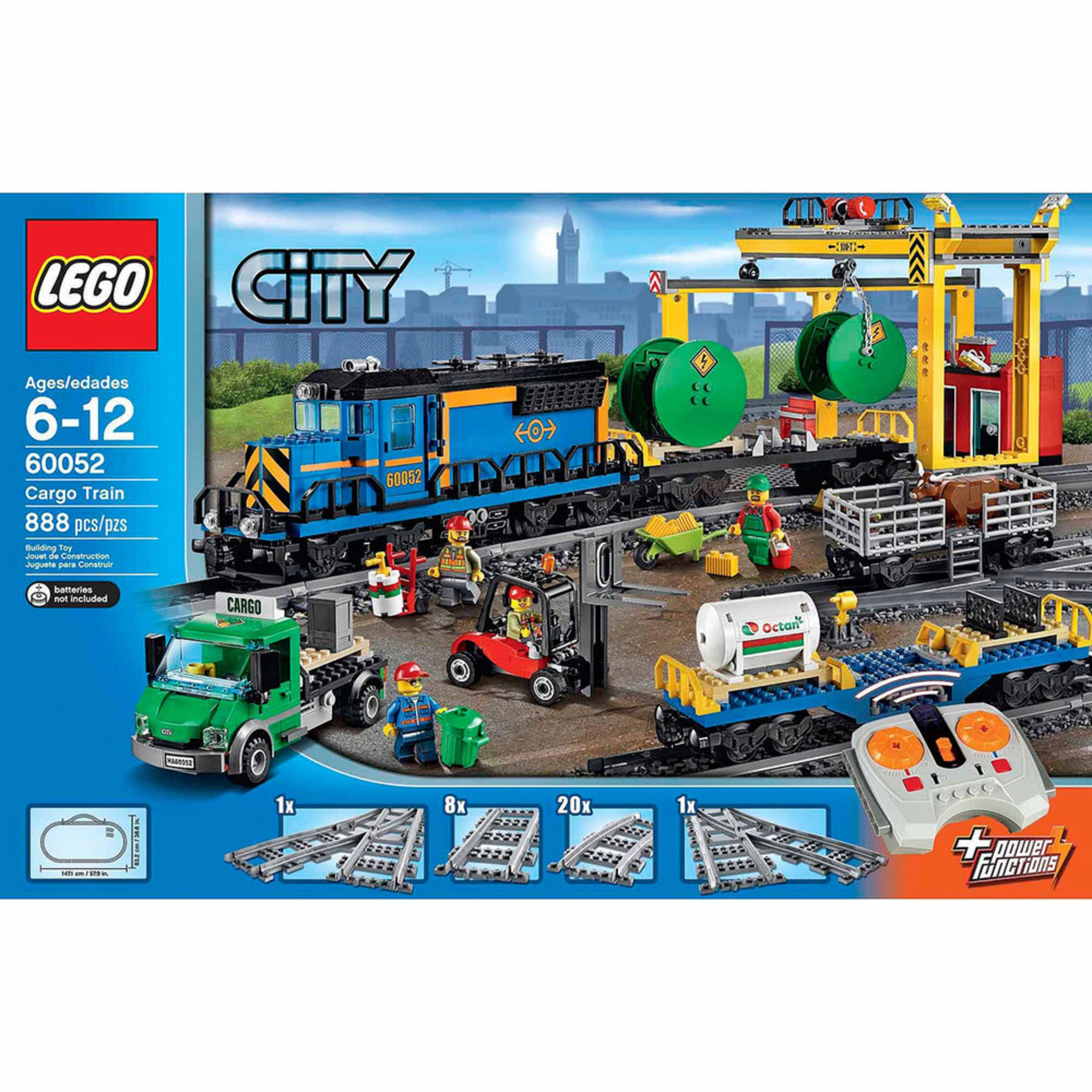 Lego Building Toys : Lego city cargo train  building sets kits