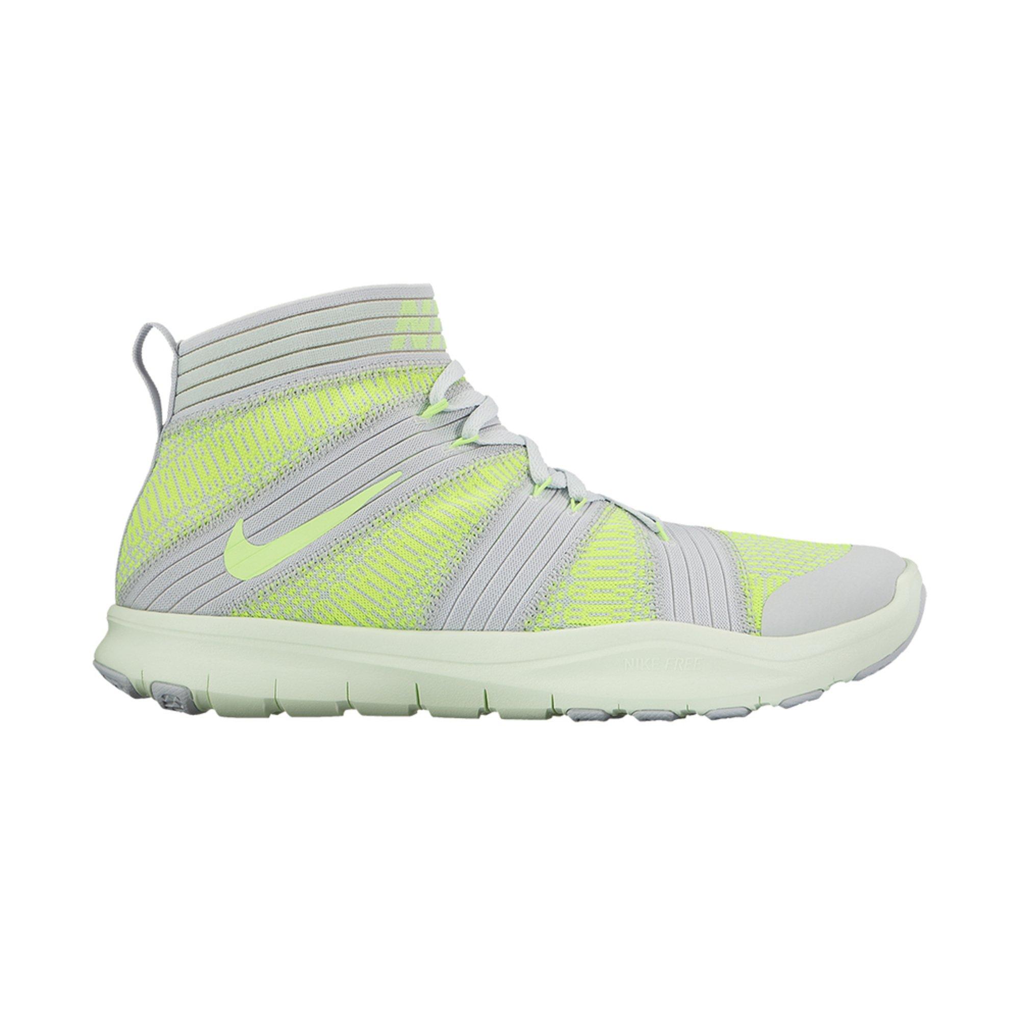 Nike Free Train Instinct 2 Men's Training Shoe Pure Platinum/ Ghost Green/  Volt/