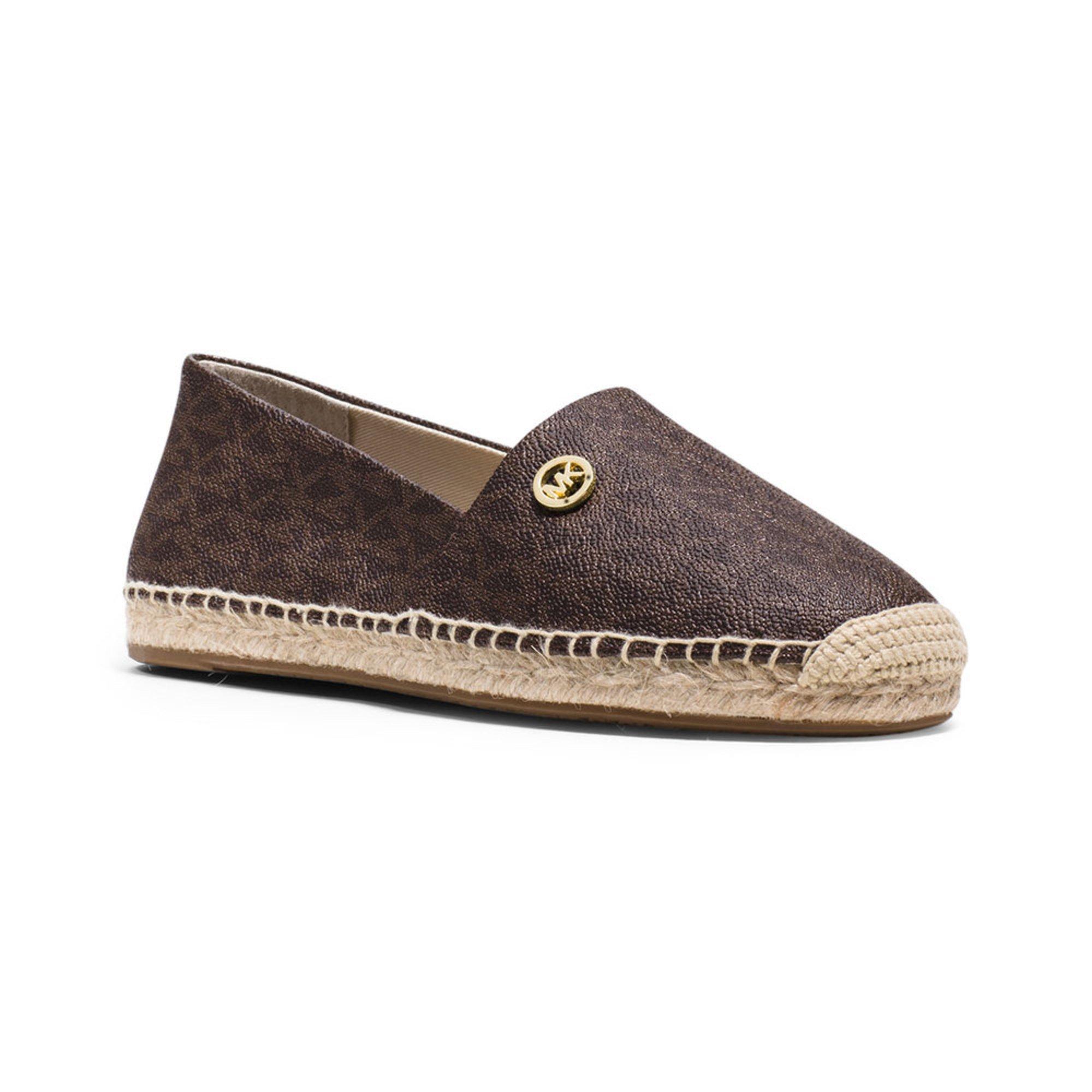 michael kors kendrick s slip on shoe brown s