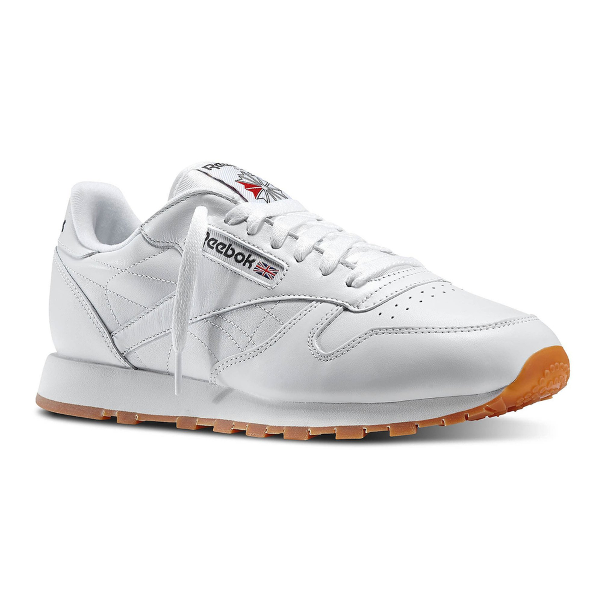 Reebok. Reebok Men s Classic Leather Running Shoe 99b6087af