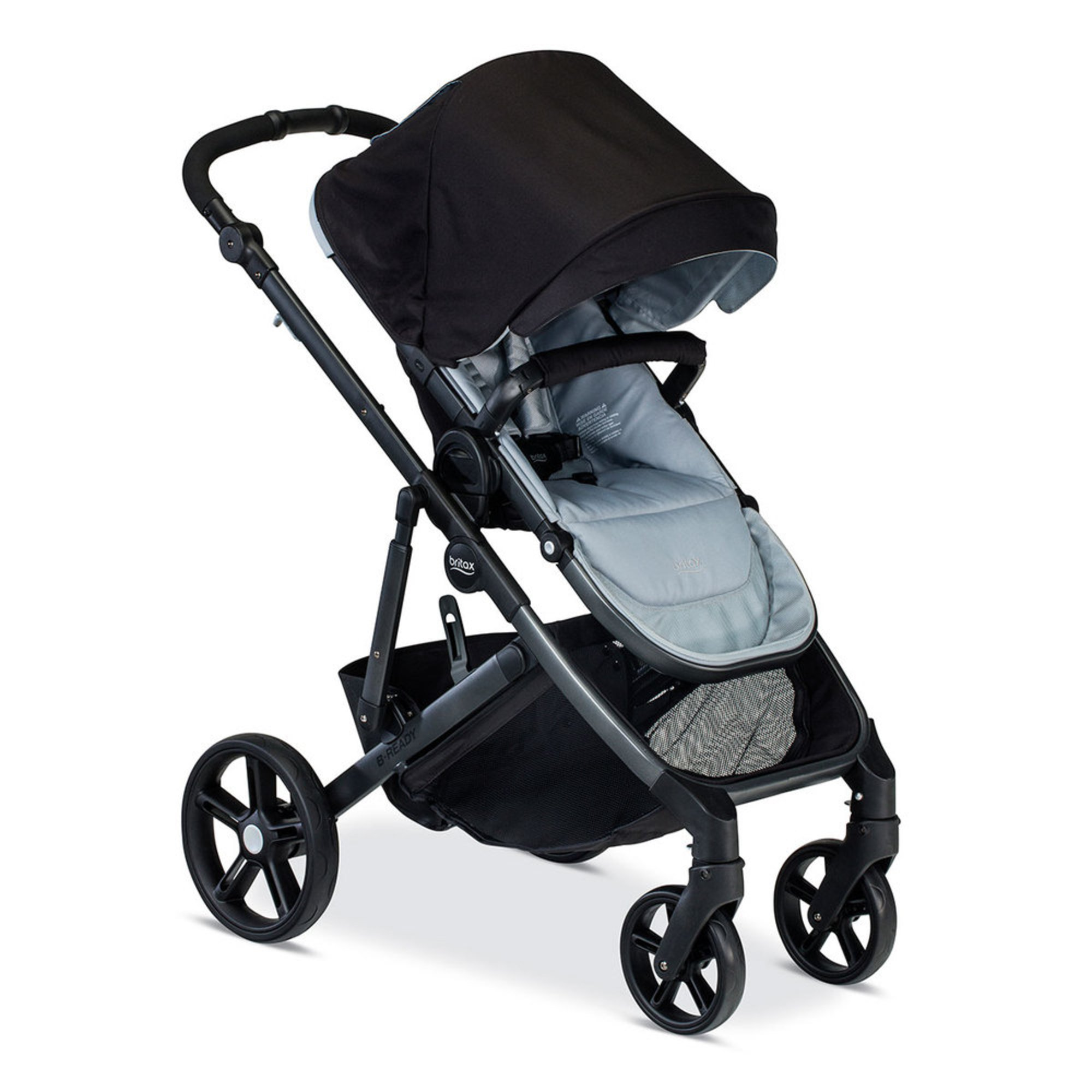 Britax 2017 B-ready Stroller, Mist | Full-size Strollers | Baby ...