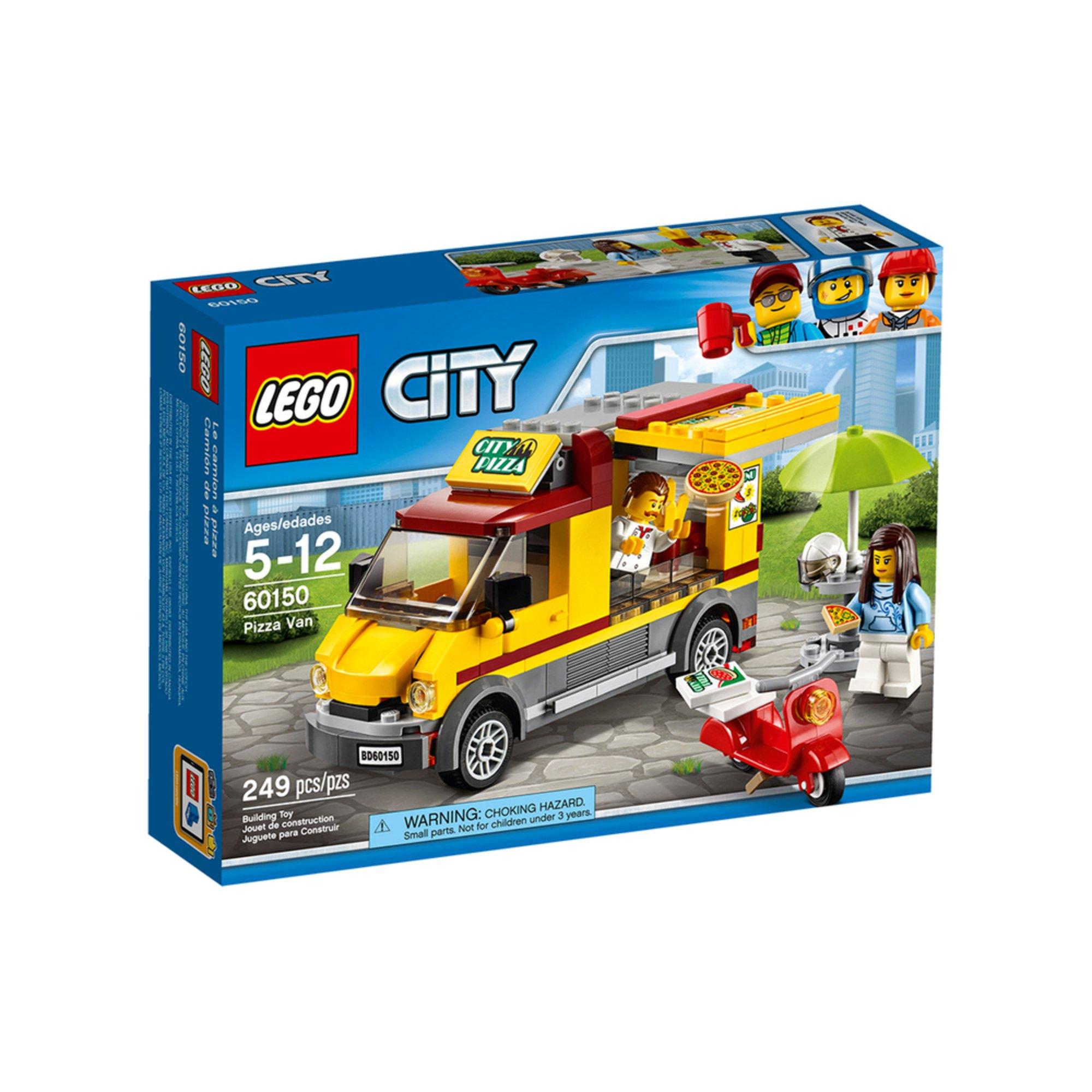 Lego City Pizza Van (60150) | Building Sets & Kits