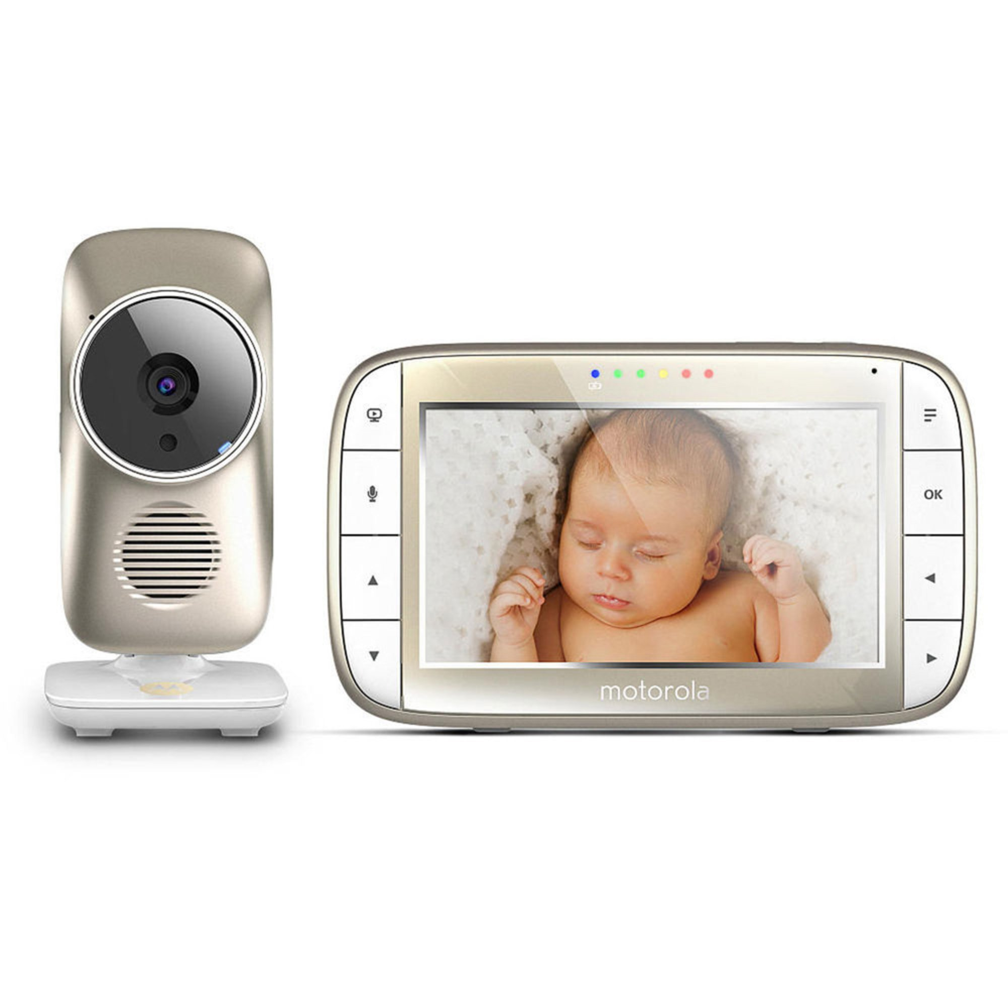 motorola 5 video baby monitor with wifi wi fi baby monitors baby k. Black Bedroom Furniture Sets. Home Design Ideas