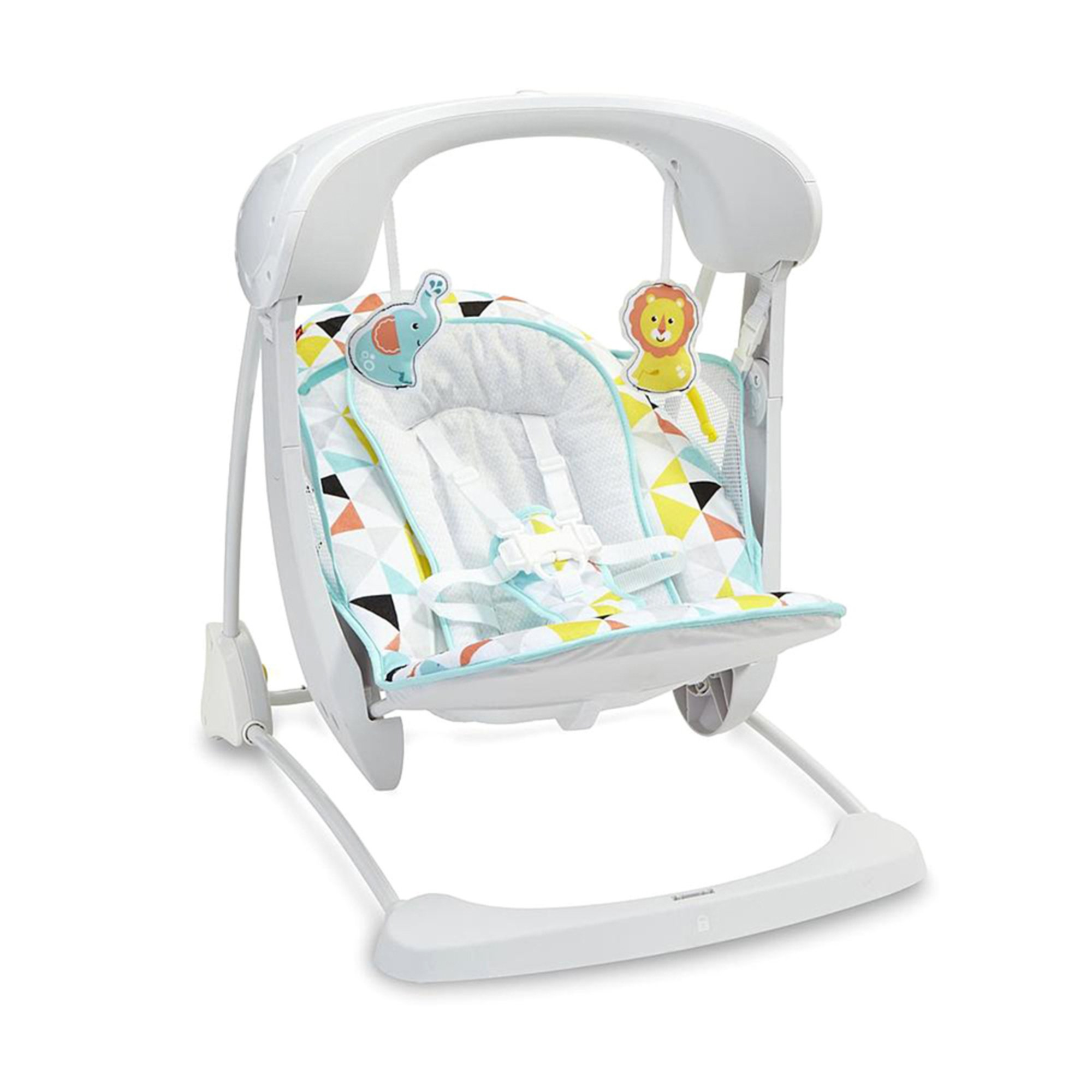 fisher price deluxe take along swing windmill swings baby kids toys shop your navy. Black Bedroom Furniture Sets. Home Design Ideas