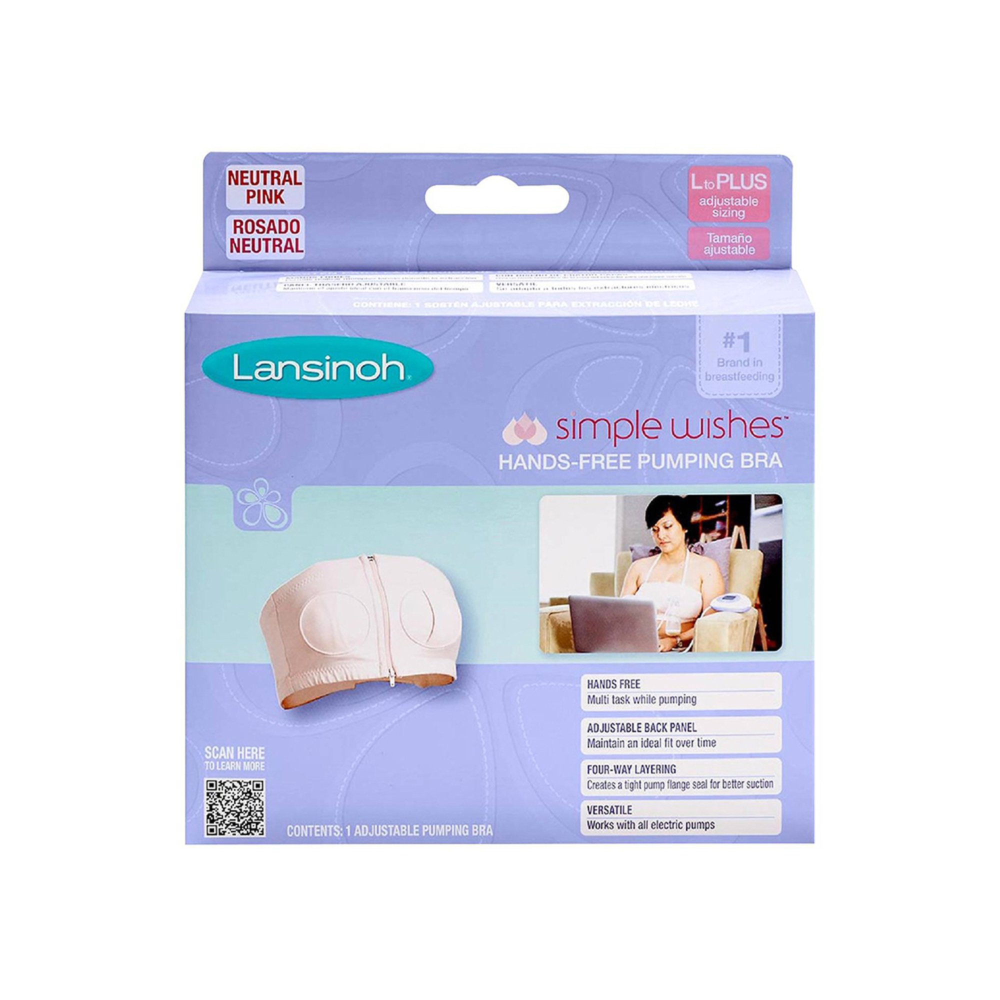 aabccf16dd7 Lansinoh Simple Wishes Bra