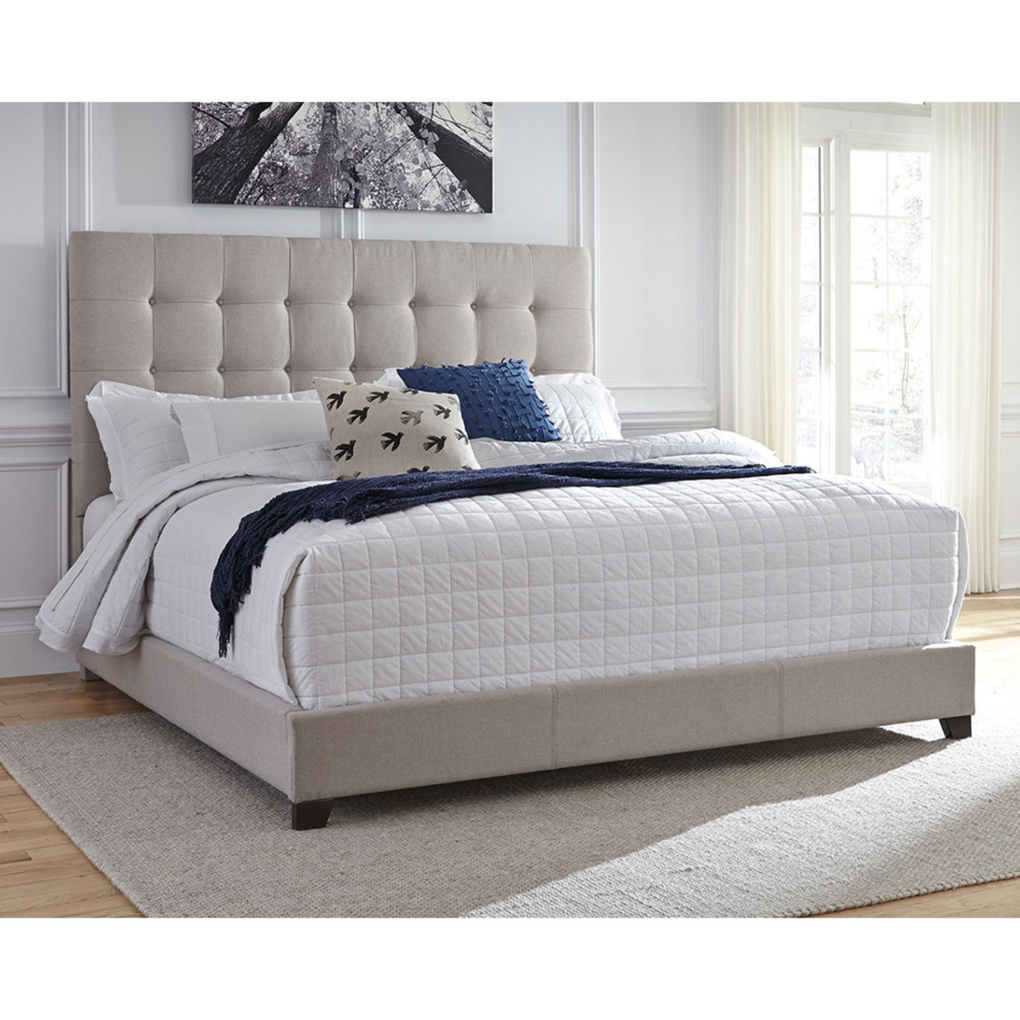Signature Design By Ashley Contemporary Upholstered Beds
