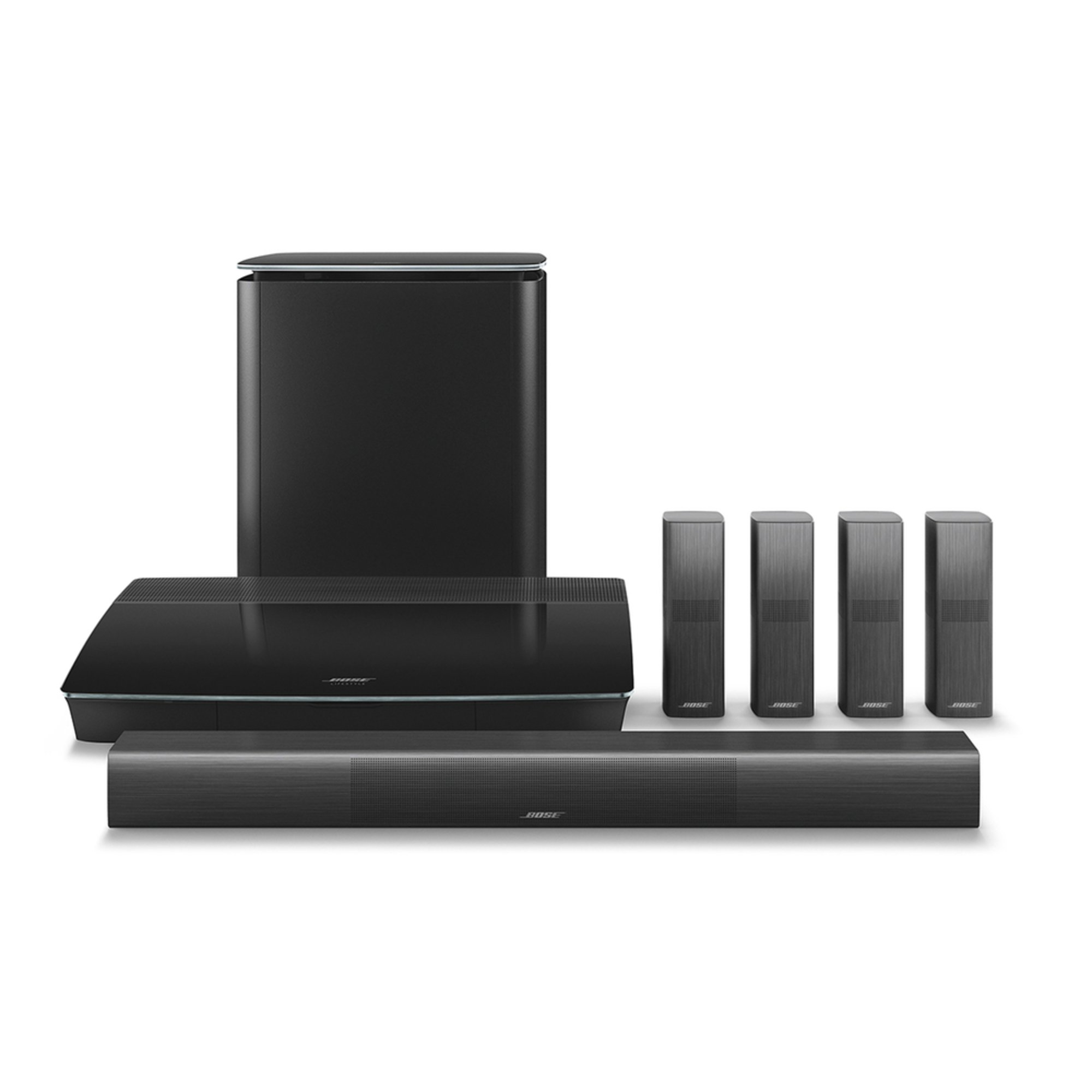 Home Theater Systems Components Shop Your Navy Exchange Bose Solo 5 Tv Sound System Lifestyle 650 Entertainment