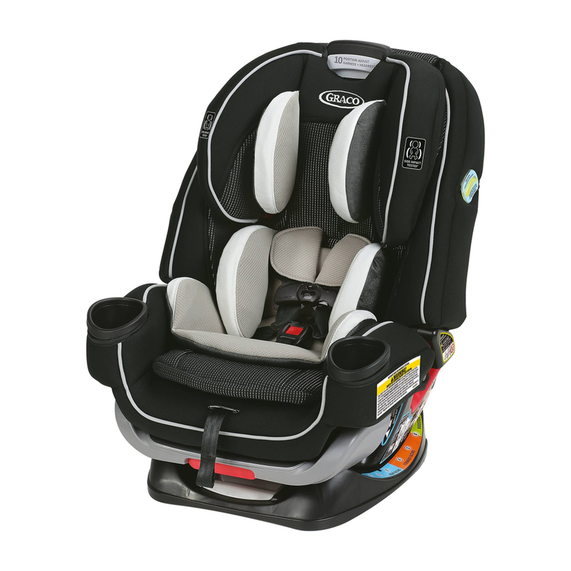 graco 4ever all in one car seat with extend2fit clove convertible car seats baby kids. Black Bedroom Furniture Sets. Home Design Ideas
