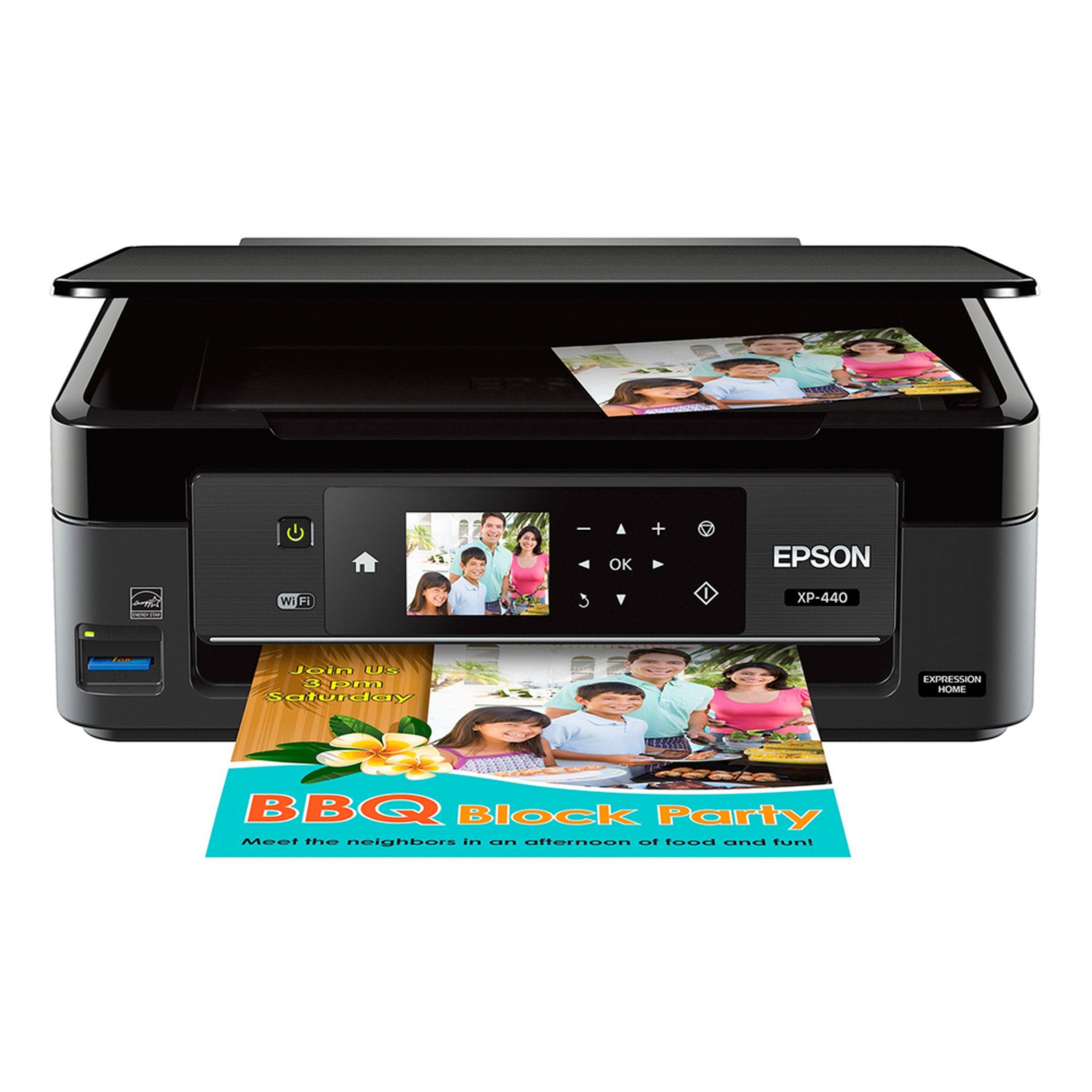 Epson Wireless Small-In-One Printer (XP-440)