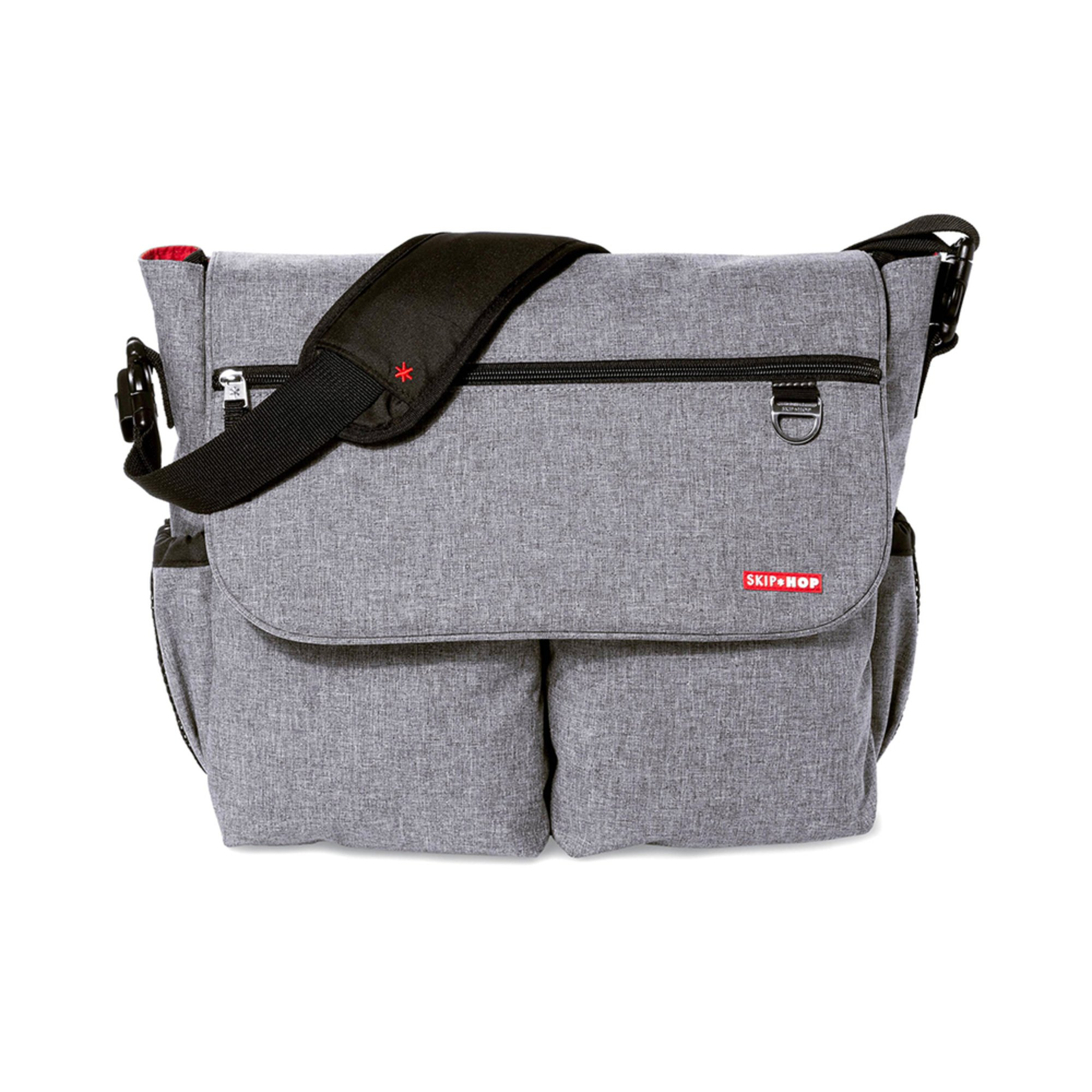 skip hop dash signature diaper bag heather grey messenger crossbody bags shop your navy. Black Bedroom Furniture Sets. Home Design Ideas