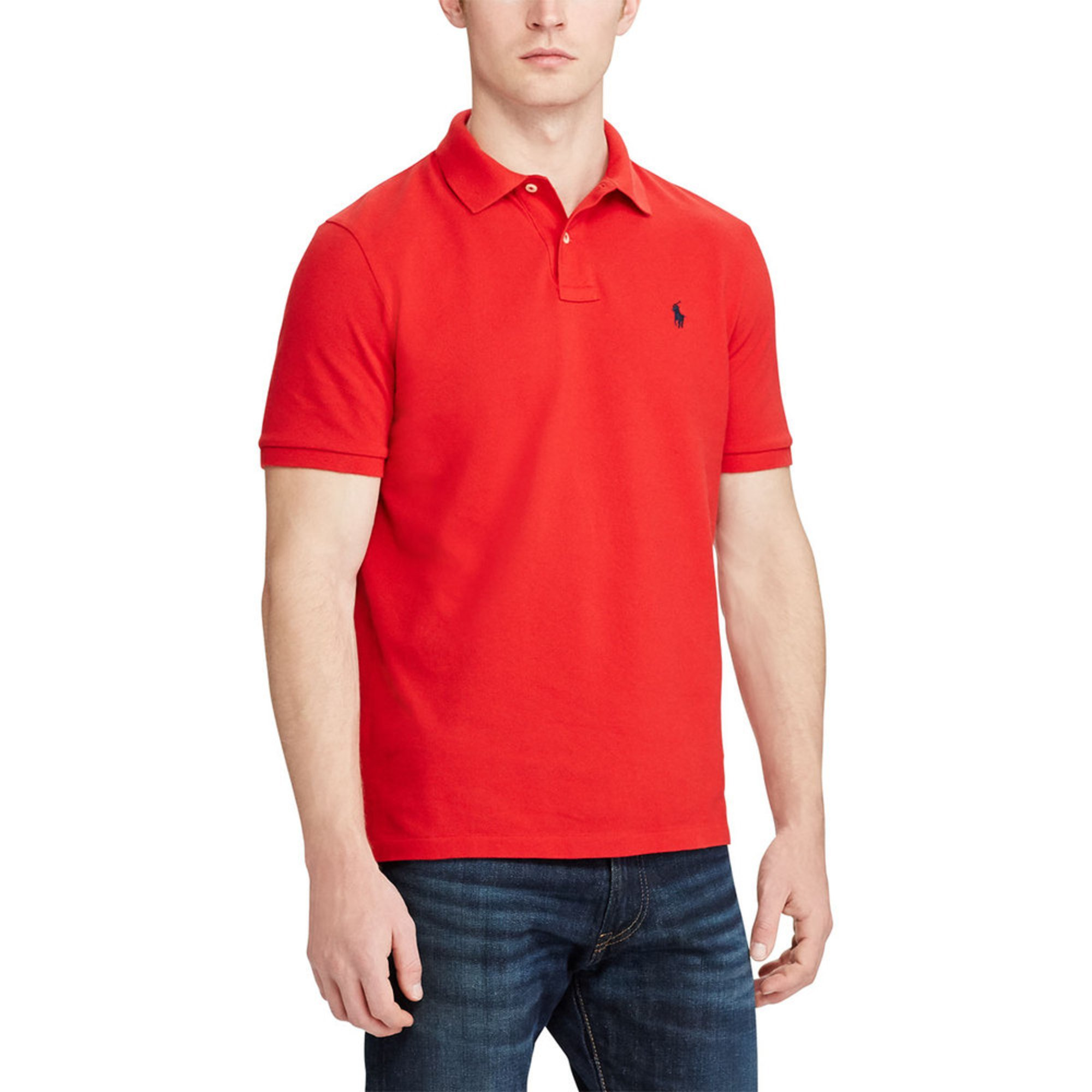 caa022cba Polo Ralph Lauren. Polo Ralph Lauren Men's Short Sleeve Mesh Classic Fit  Polo