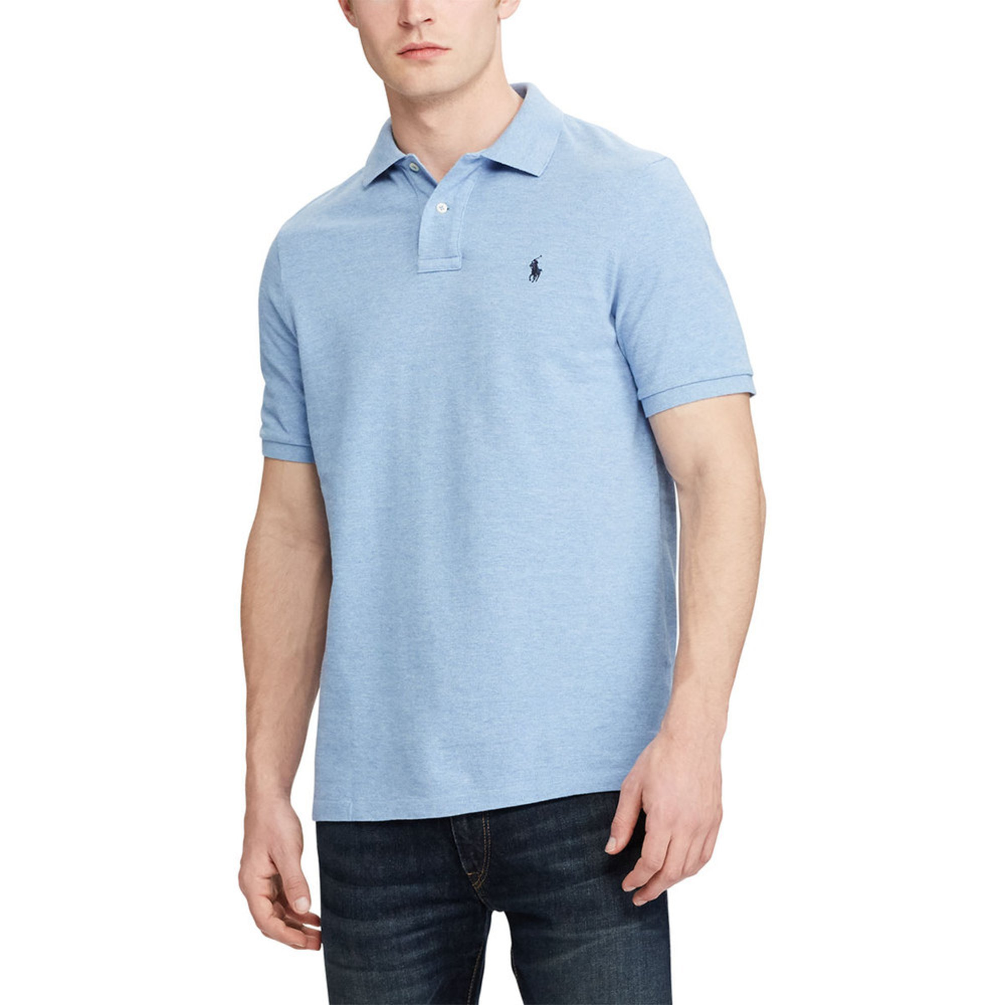 Short Polo Lauren Men's Ralph Mesh Sleeve Classic Fit 7fYgb6yv