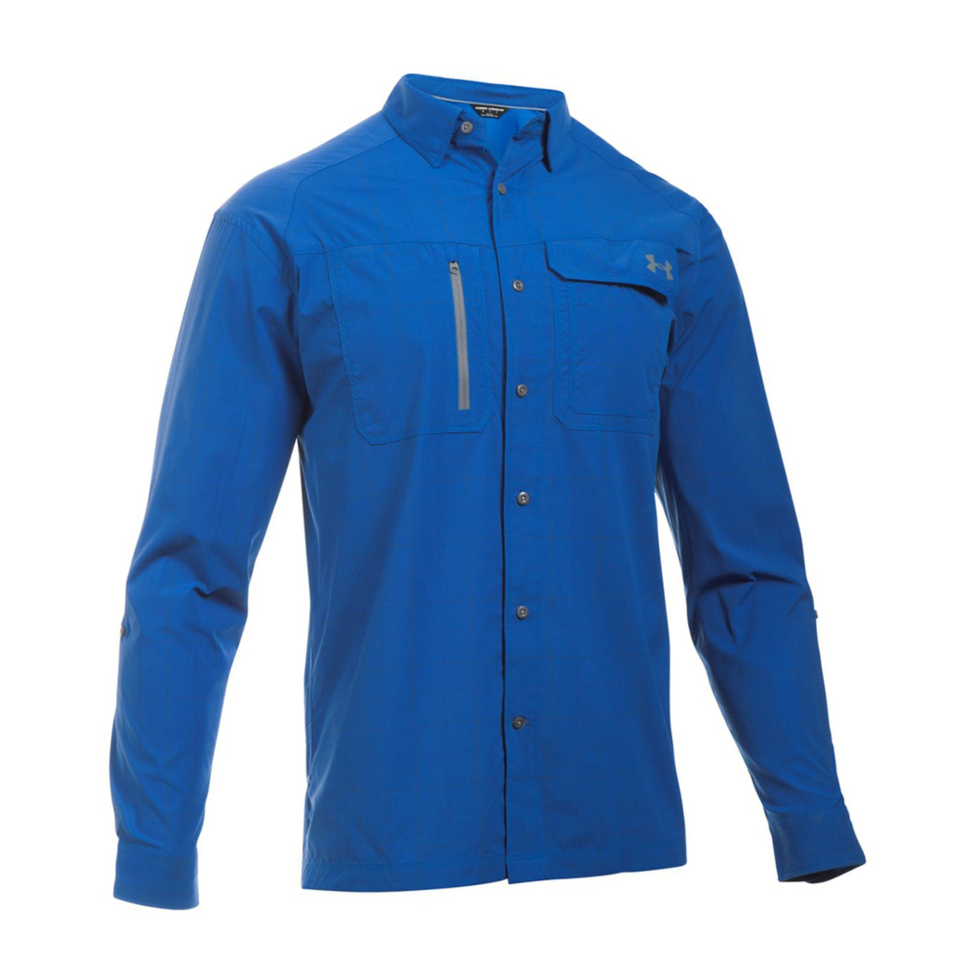 Under armour men 39 s fish hunter long sleeve button down for Button down fishing shirts