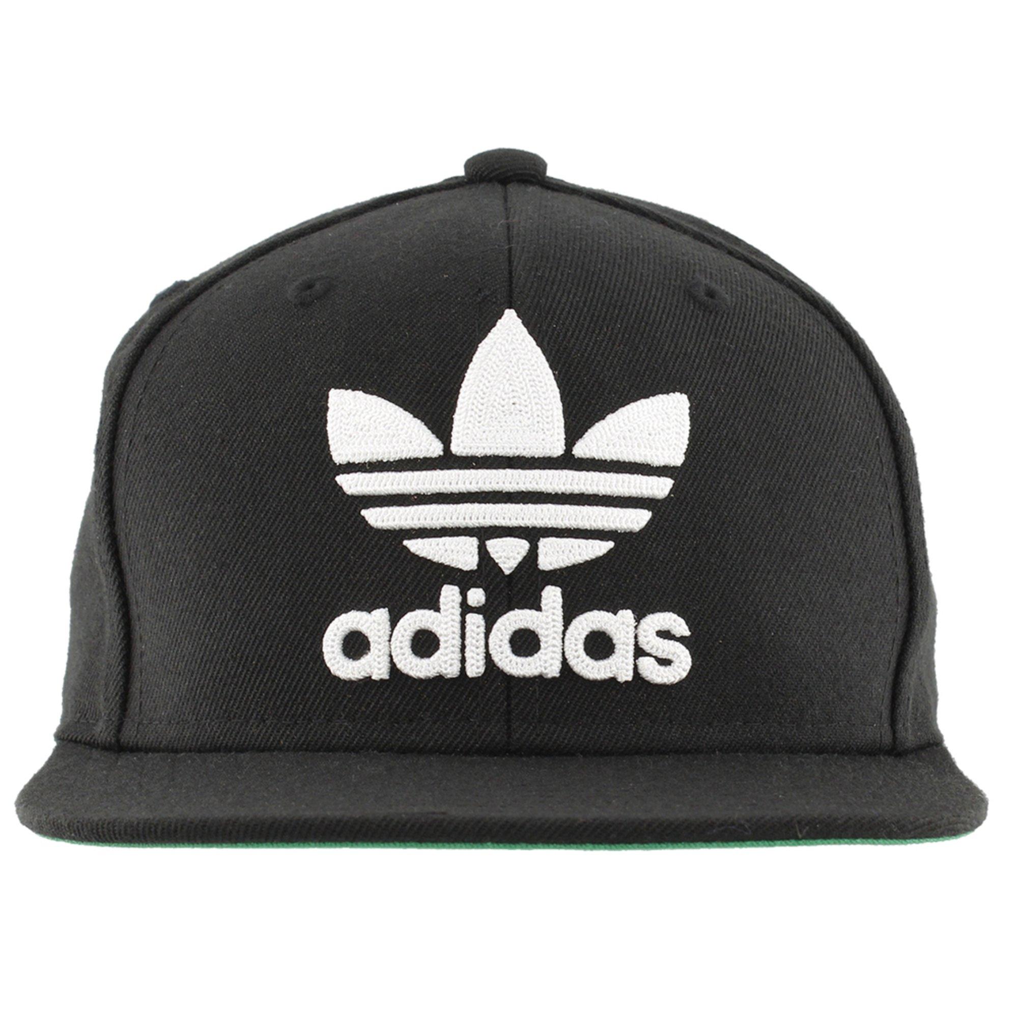 a2215d8b Adidas Men's Originals Trefoil Snapback Cap - Black | Active Hats ...
