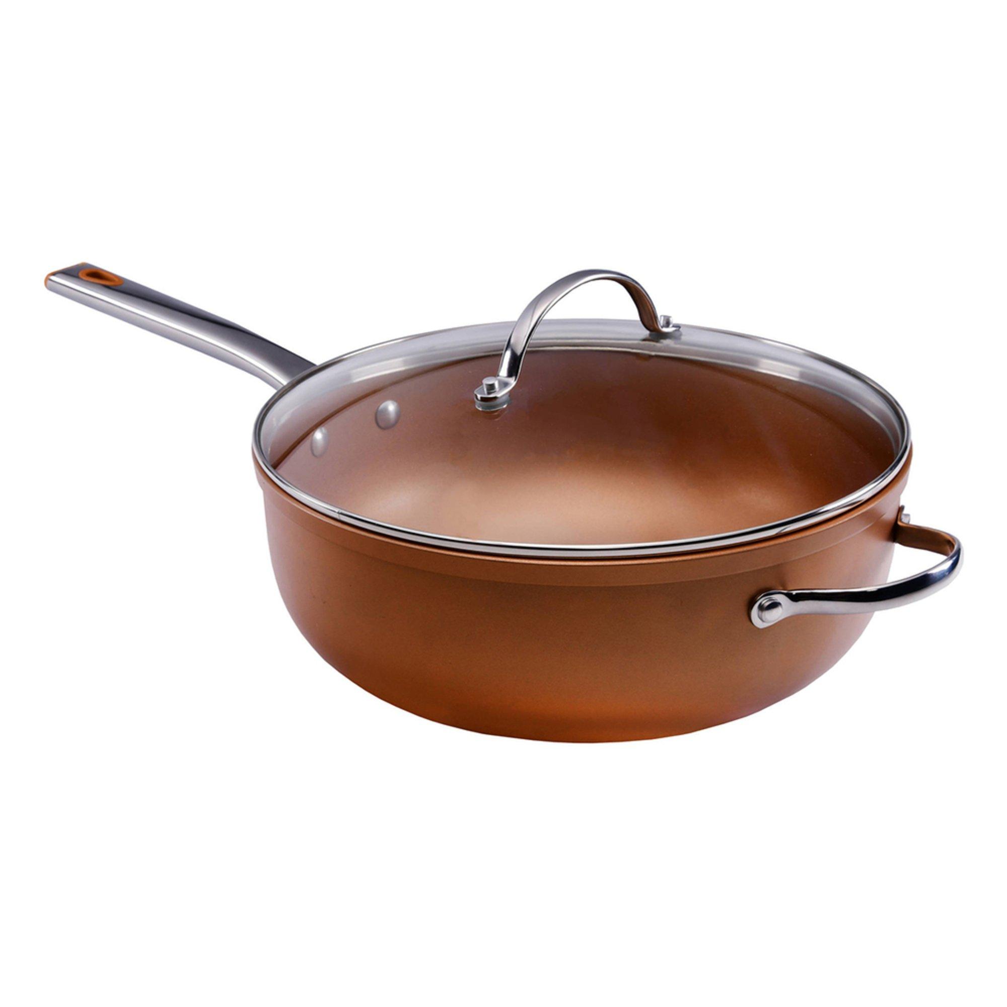 Farberware 6-quart Color Tech Covered Jumbo Cooker, Copper ...