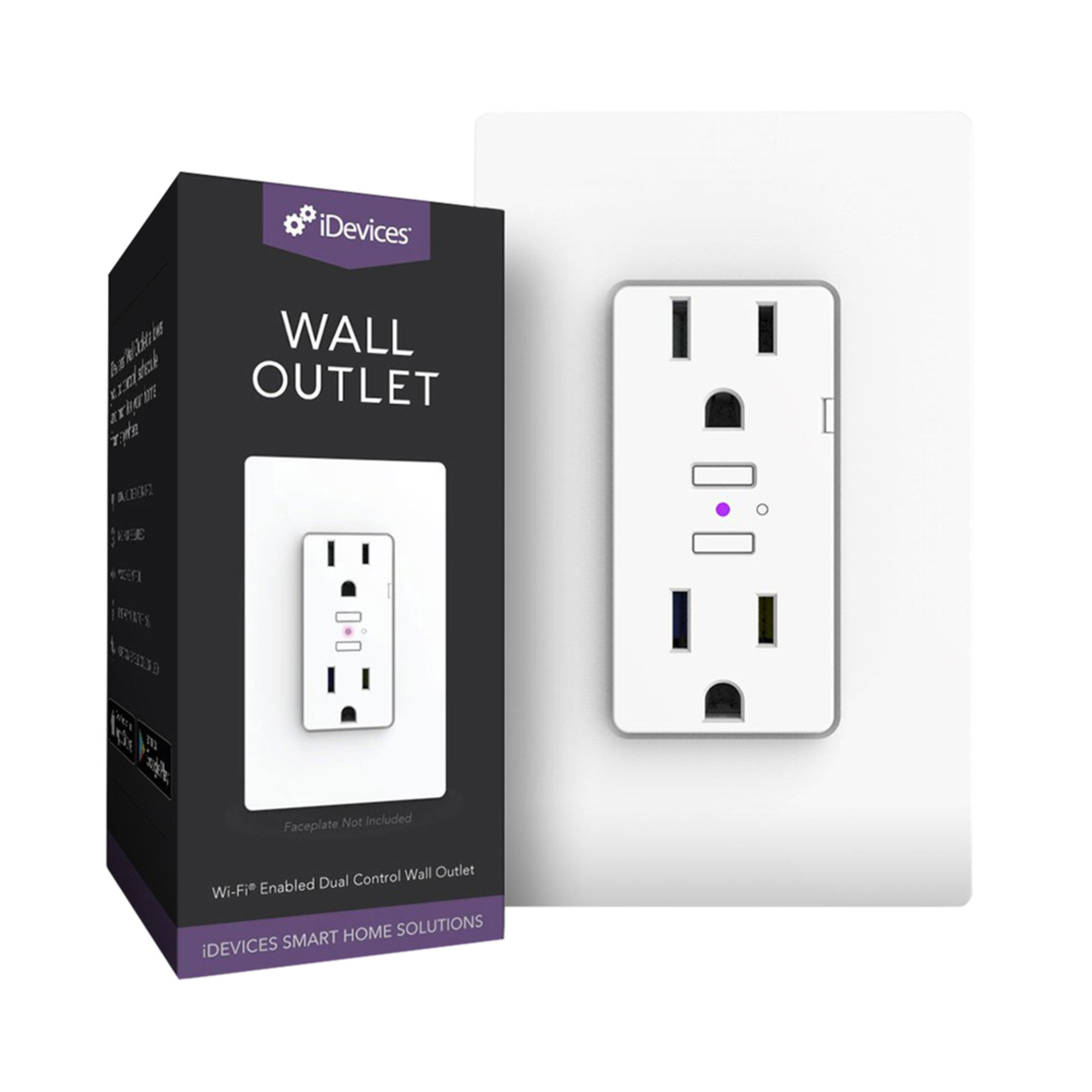 Idevices Wall Outlet (idev0010) | Smart Outlets | Electronics - Shop ...