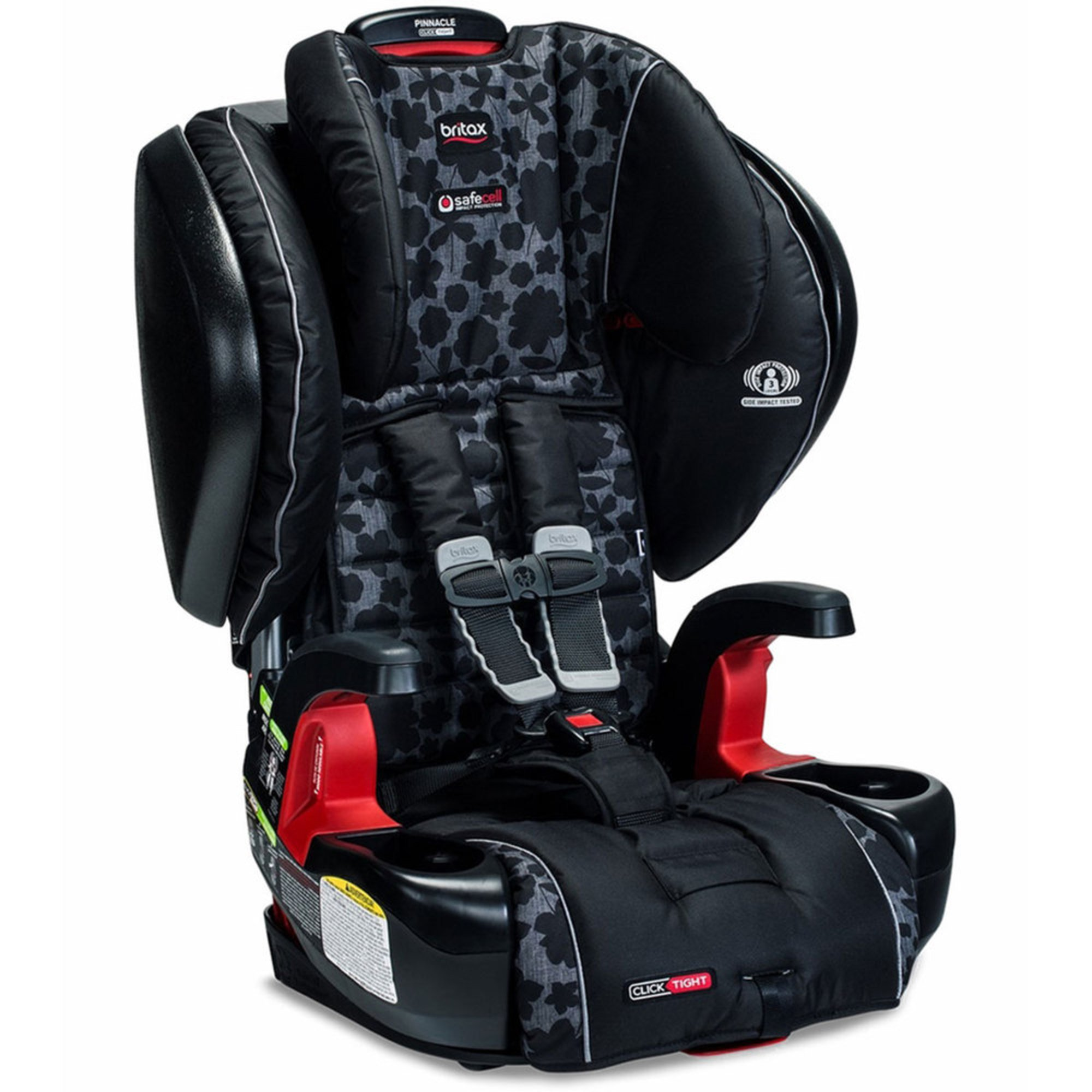 Britax Pinnacle Clicktight Booster Seat - Kate | Harness Booster ...