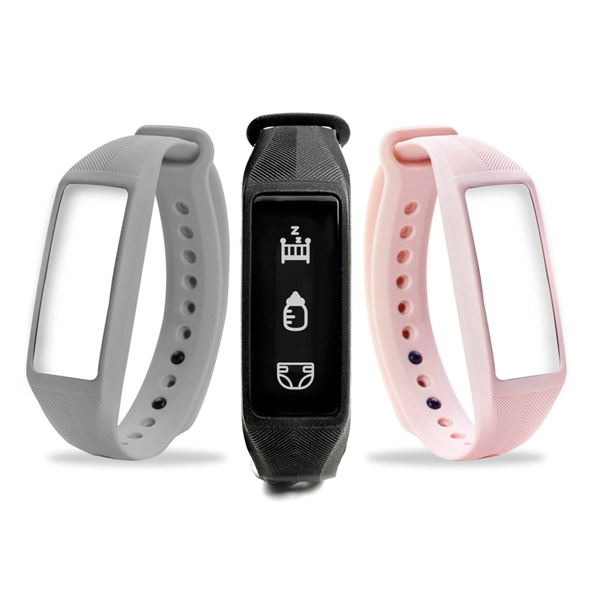 project nursery parent baby smartband w extra bands wearable baby monitors baby kids. Black Bedroom Furniture Sets. Home Design Ideas
