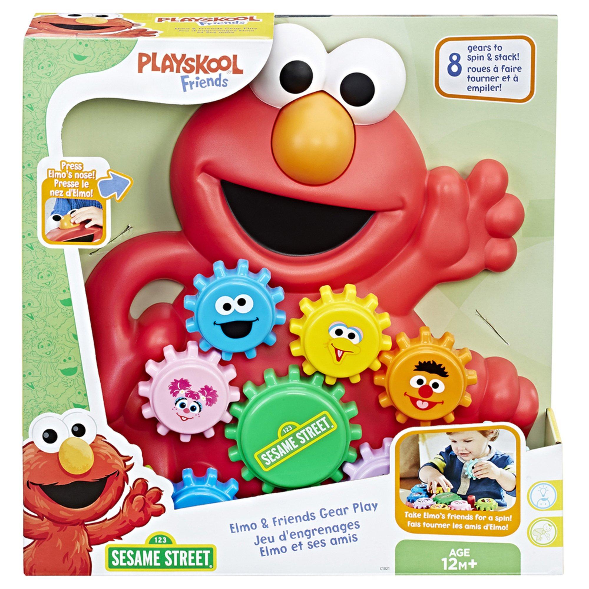 Playskool Sesame Street Elmo And Friends Gear Play   Early Learning ...