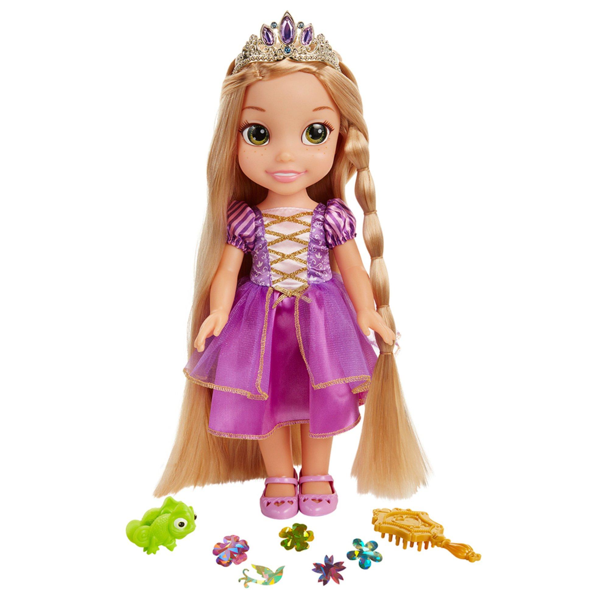 Jakks Pacific Disney Princess Glow N Style Rapunzel