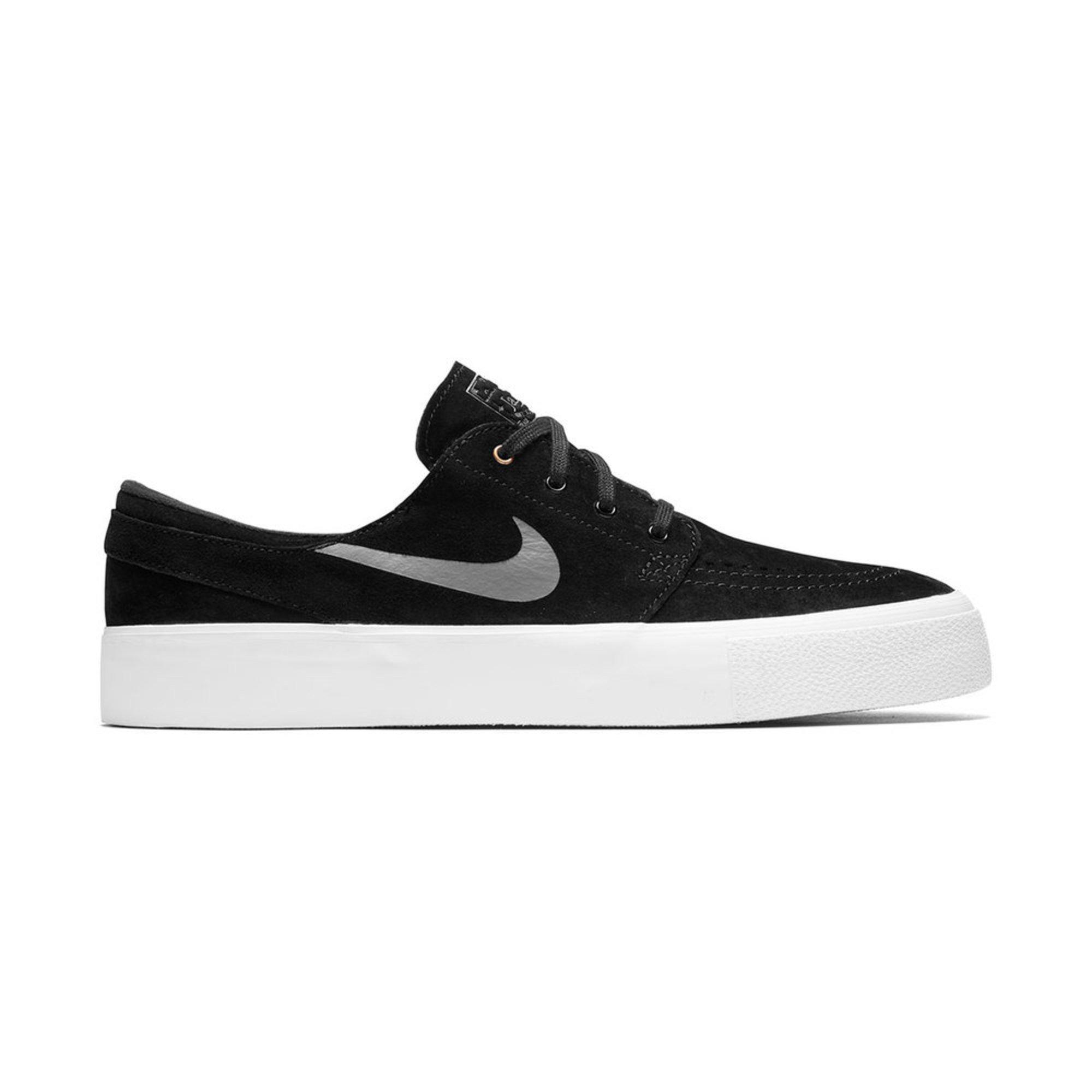 Nike. Nike SB Zoom Stefan Janoski HT Men's Skate Shoe - Black / Dark Grey  ...