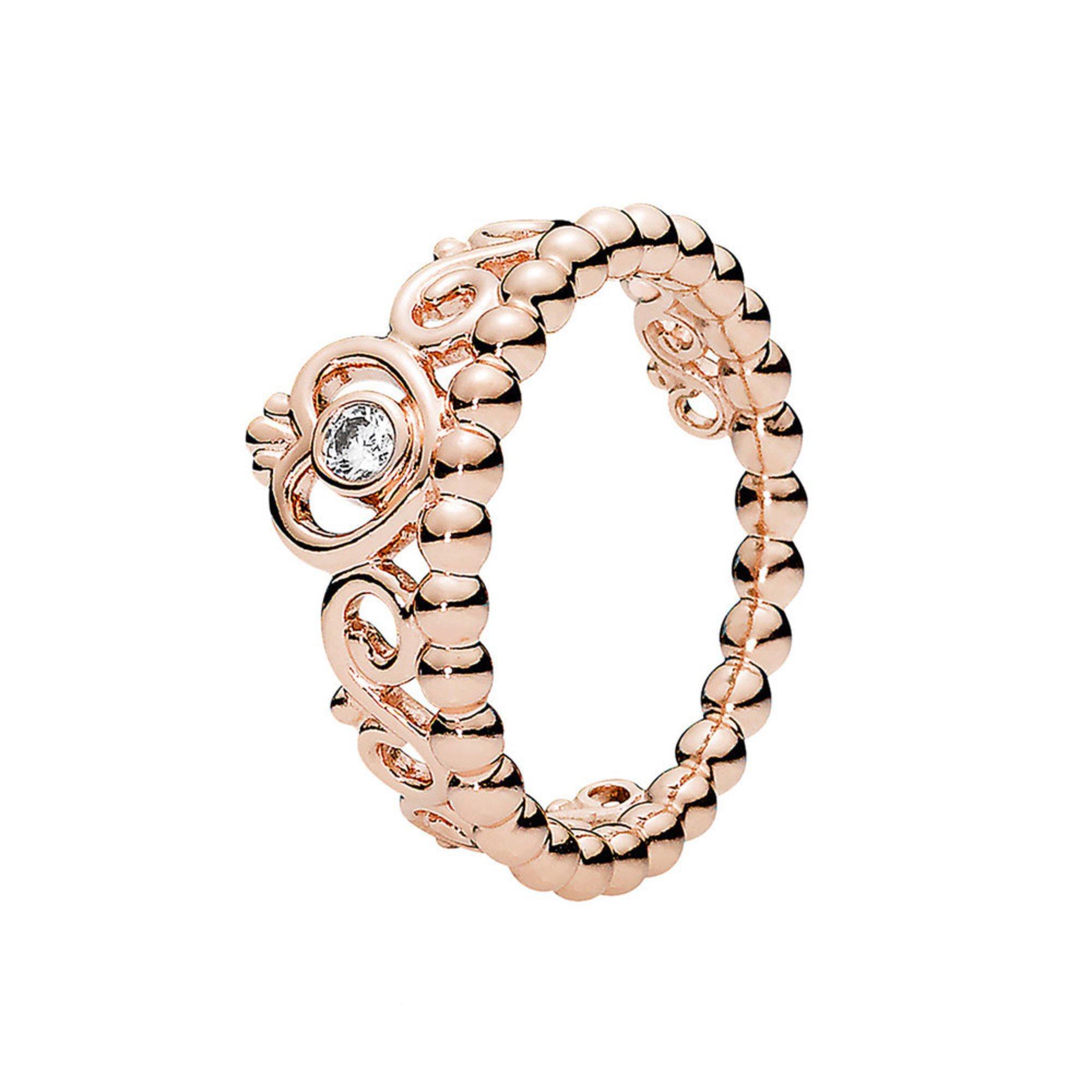70f056153 Pandora Rose™ My Princess Tiara Ring, Clear Cubic Zirconia - Size 6 ...