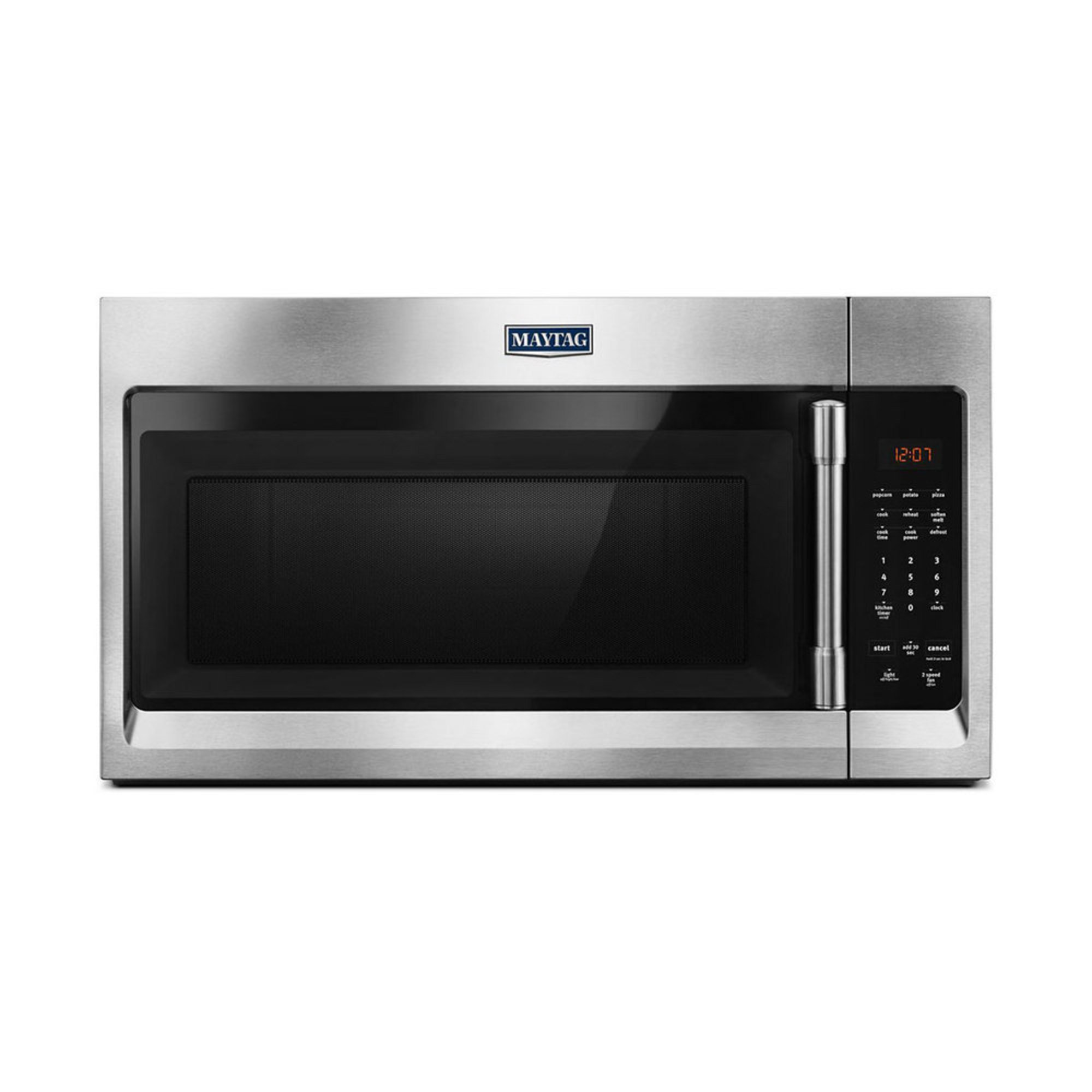American Heritage Microwave Oven: Maytag 1.7-cu.ft. Over-the-range Microwave Oven, Stainless