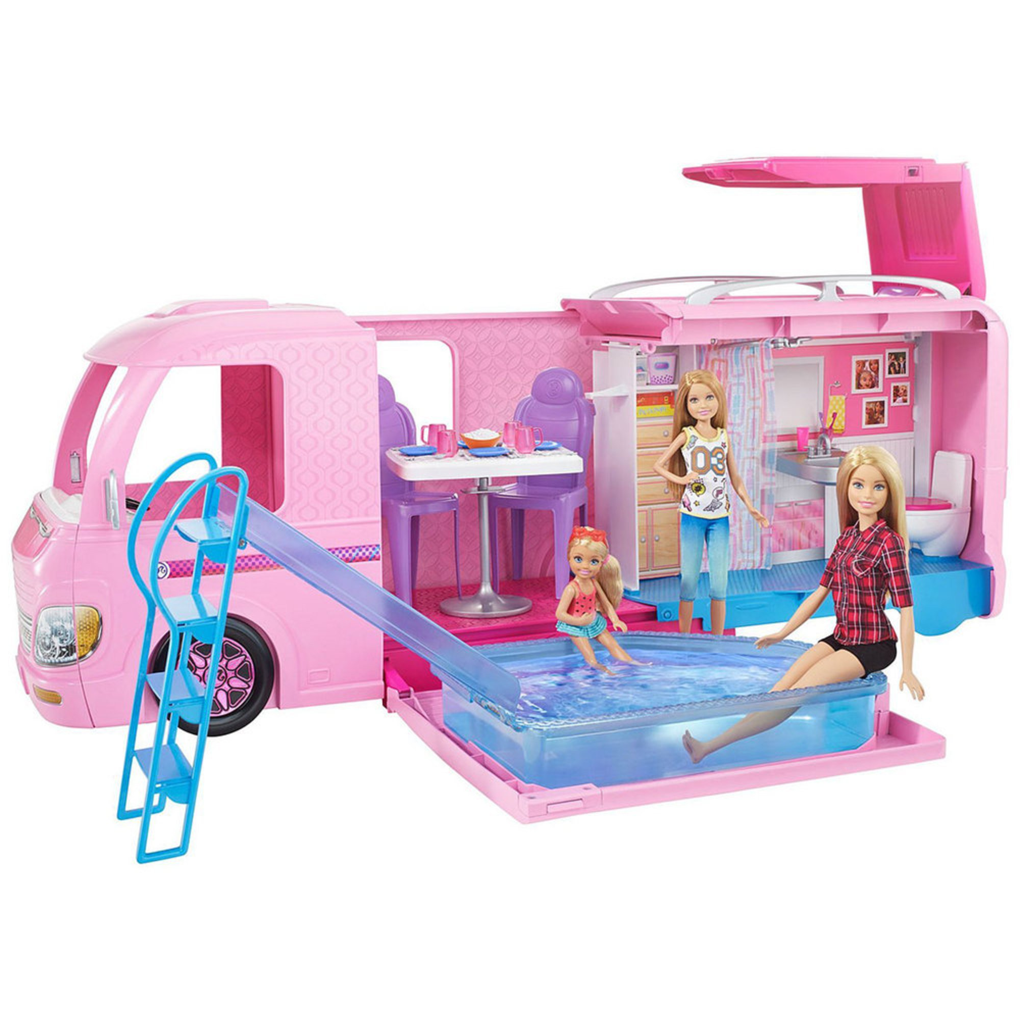 Mattel. Barbie Dream Camper