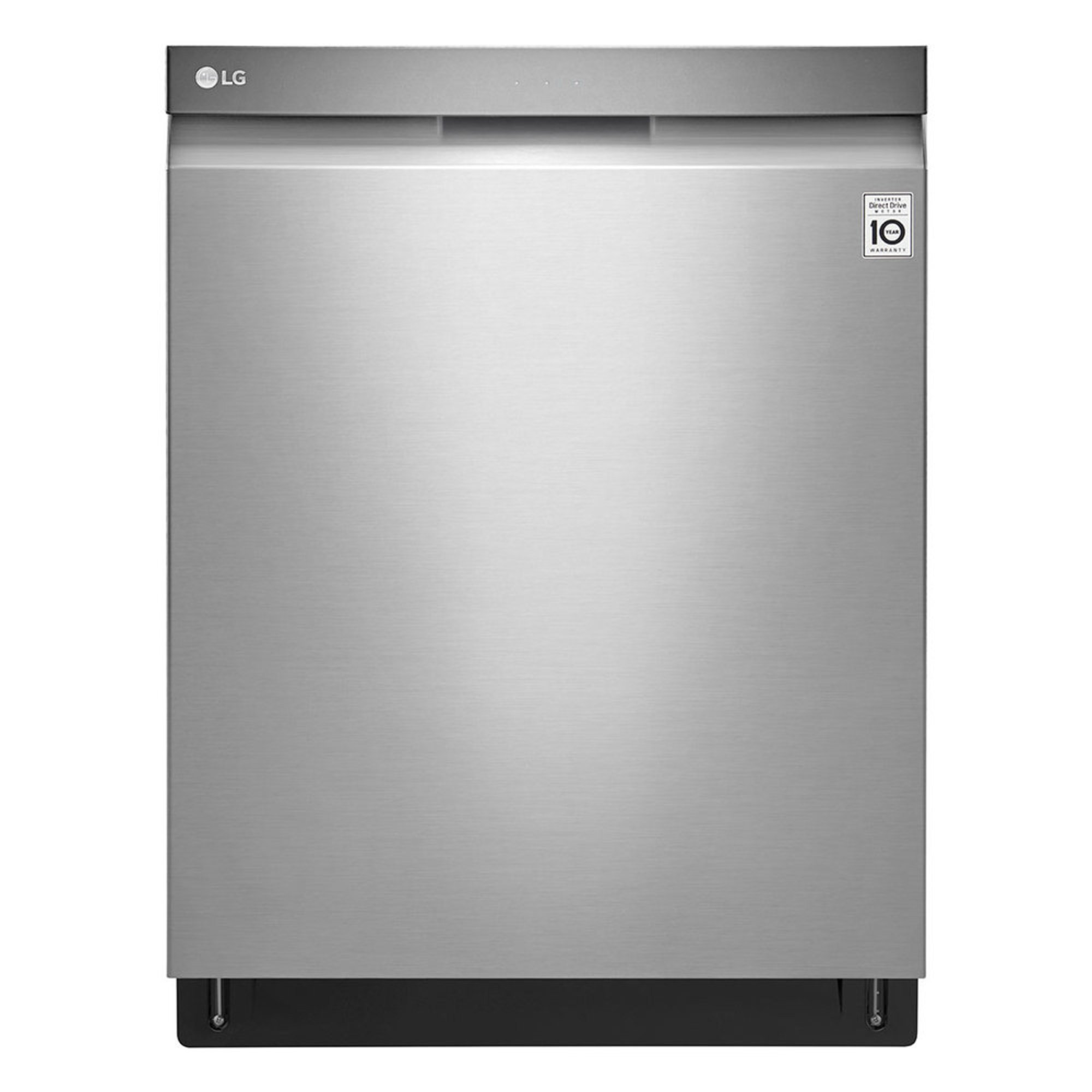 lg 24quot top control dishwasher with pocket handle