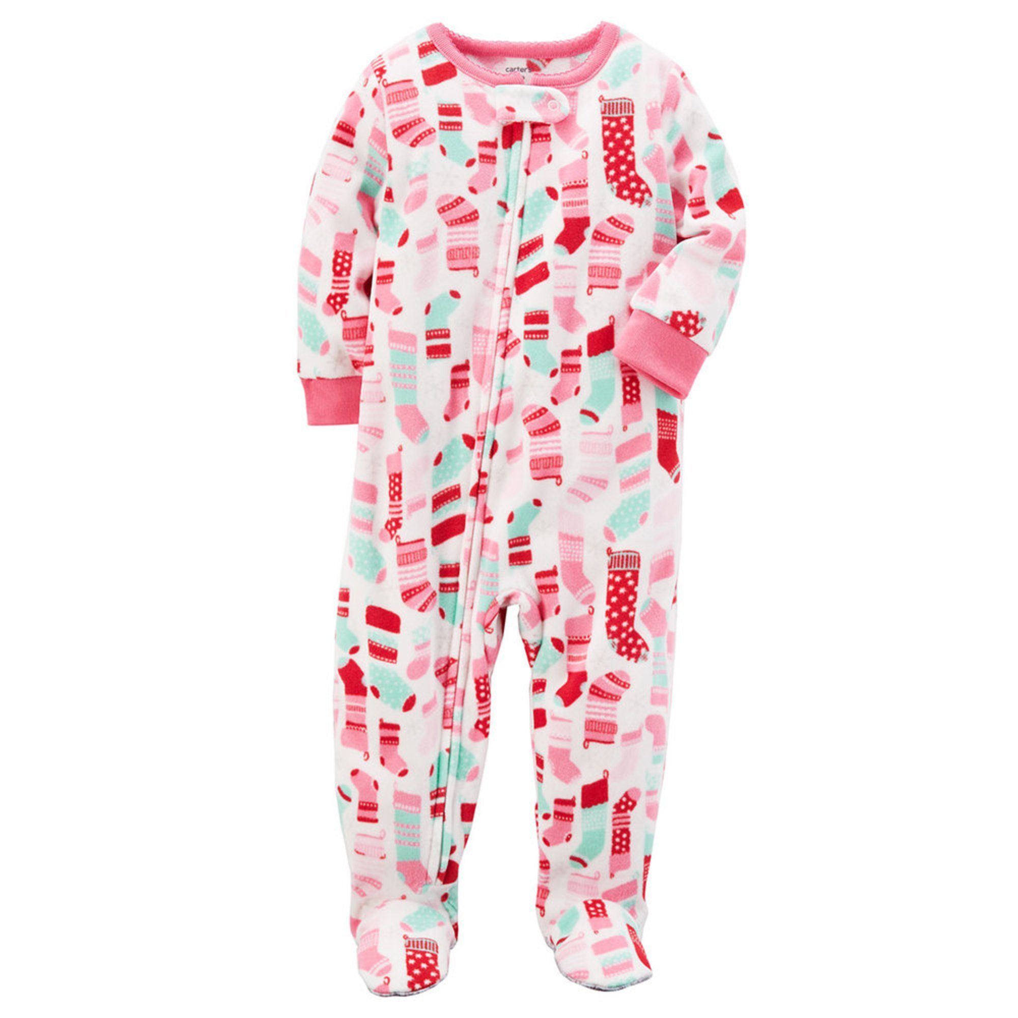 Infant Girls Clearance Sleepwear. Infants grow so fast that they are constantly out growing their clothes and pajamas. It sometimes makes sense to buy last year's style pajamas, new in the package, but at a deep discounted cost.