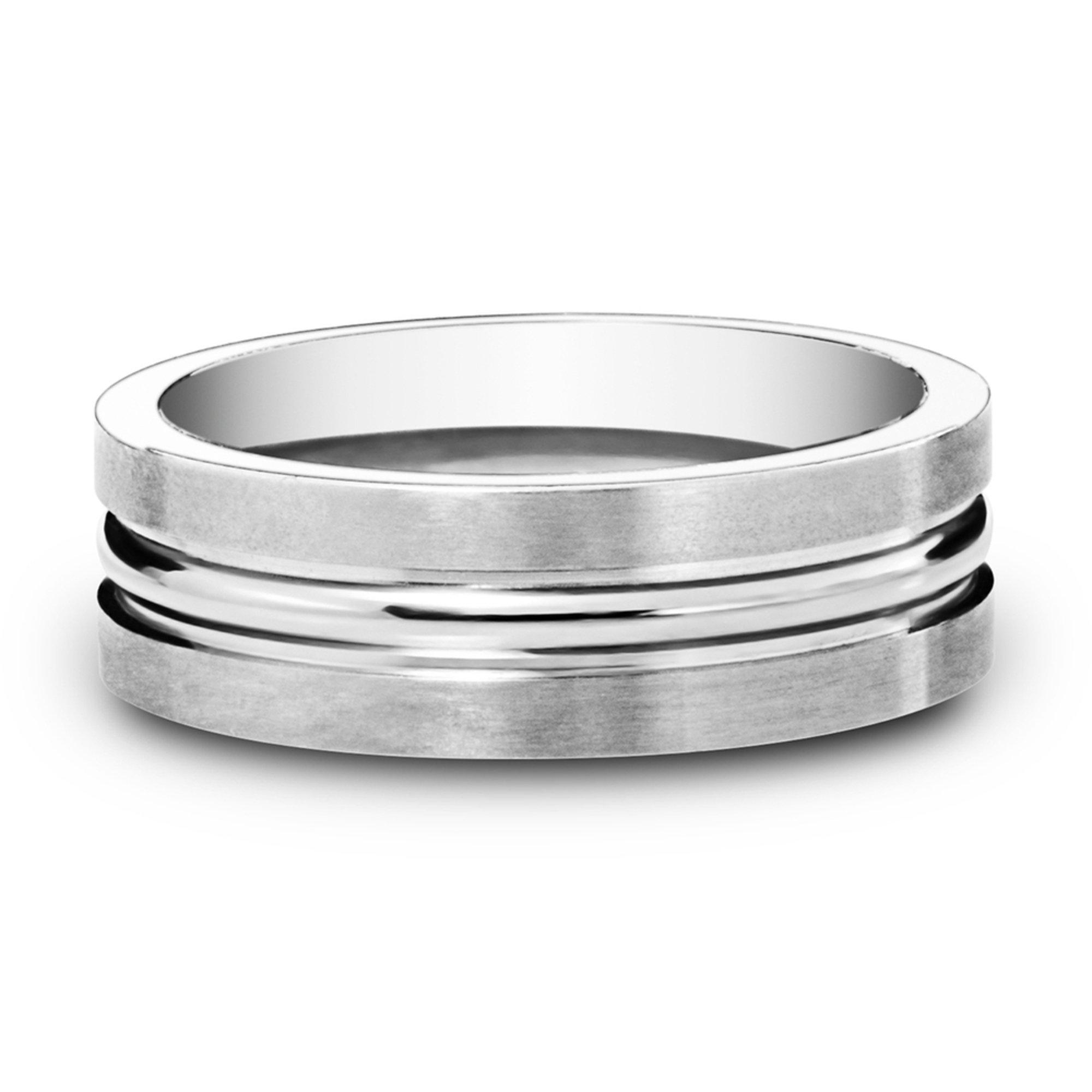 Men S Titanium Wedding Band Wedding Bands For Him Accessories