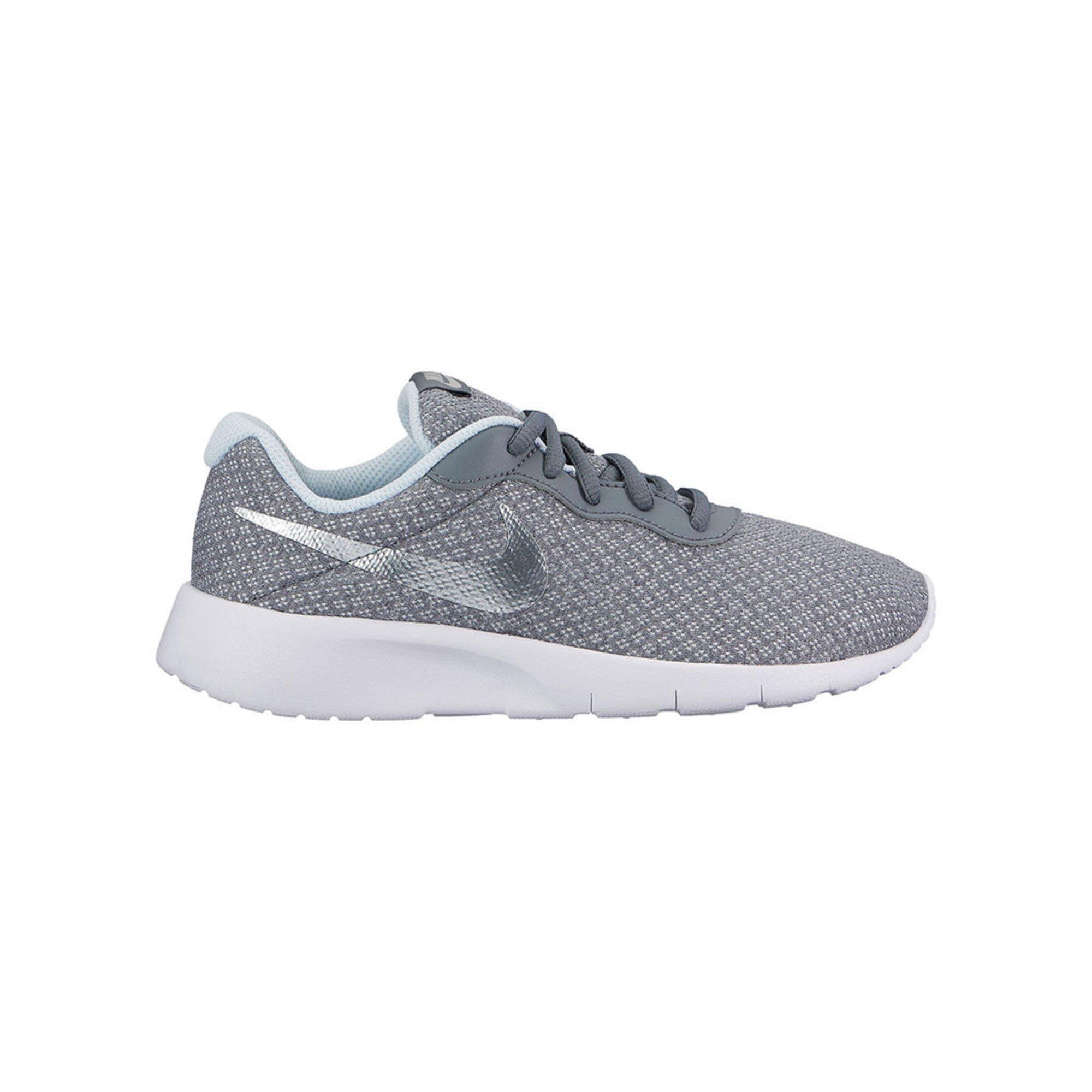 Nike Tanjun Girls Sneakers Cool Grey/ Metallic Silver/ Blue Tint