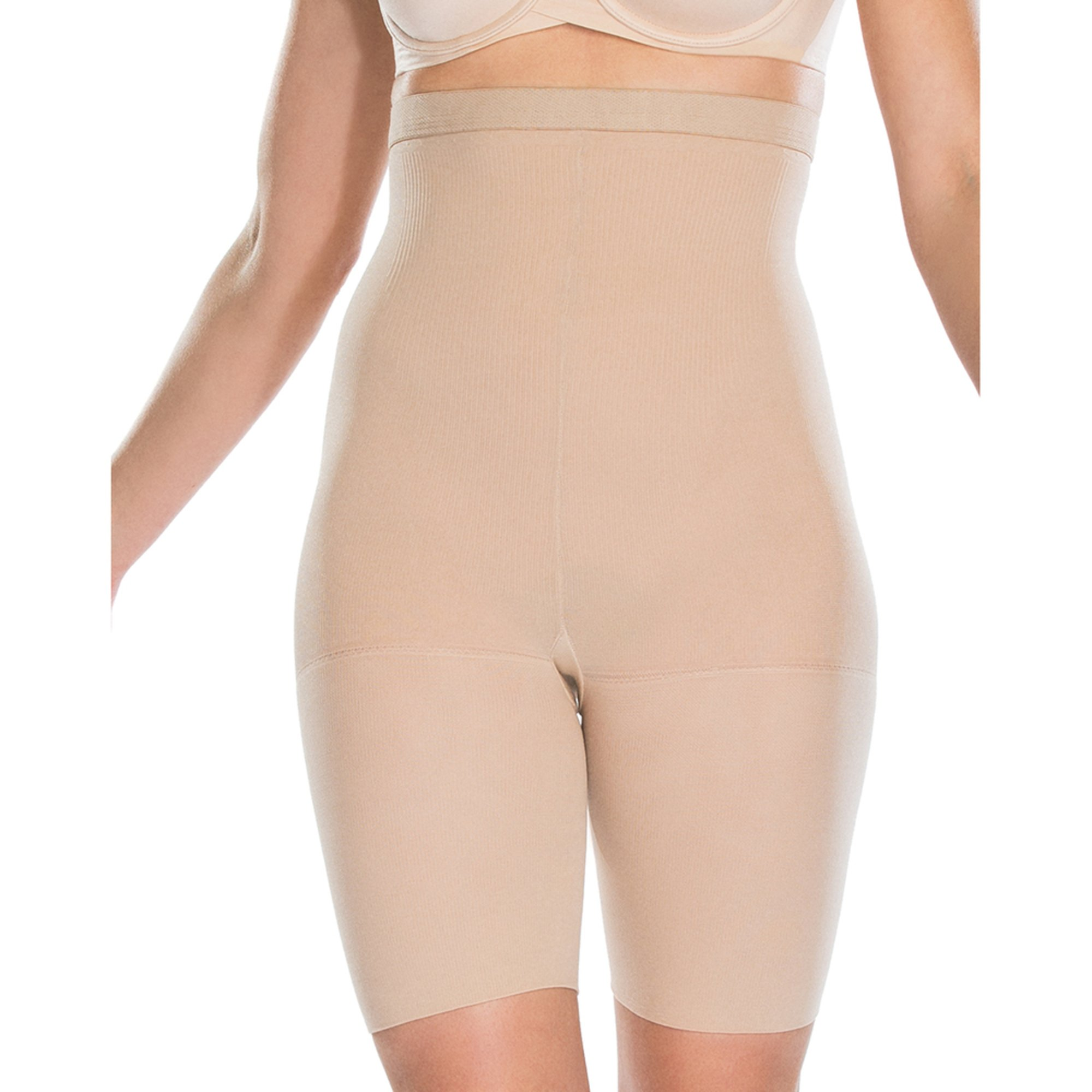 bec75ec8c ASSETS Red Hot Label by Spanx. Red Hot by Spanx Packaged High Waist Mid-Thigh  Shaper Nude