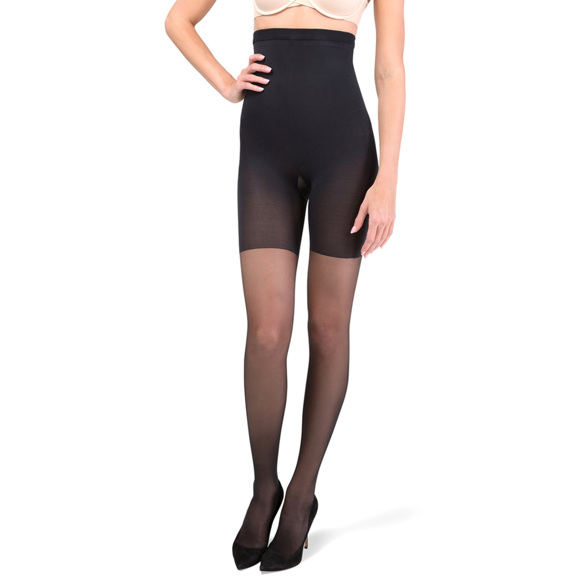 779ced265ca ASSETS Red Hot Label by Spanx. Red Hot by Spanx High Waist Shaping Pantyhose  Black